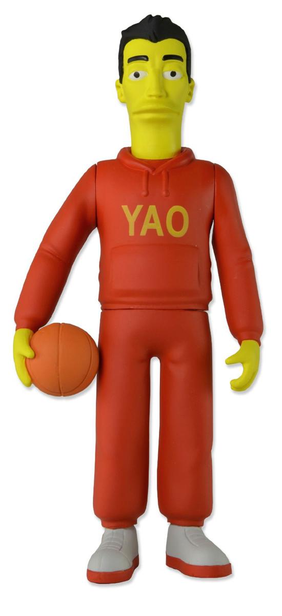 Симпсоны 25-летие. Фигурка Яо Мин серия 1 игрушки симпсоны