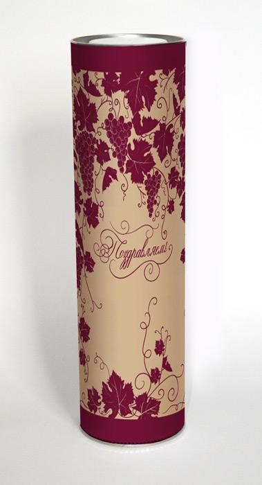 Тубус под бутылку Правила Успеха Виноградная лоза, 10 х 35 см4610009210193Подарочная туба Виноградная лоза изготовлена из металла иплотного картона.Изделие оформлено красивым орнаментом виноградной лозы.Прекрасно подходит в качестве подарочной упаковки дляалкоголя. Красивый дизайн привлекает внимание, кроме того, онуниверсальный, поэтому туба подойдет в качестве подарочнойупаковки как для женщин, так и для мужчин.Подарок, преподнесенный в оригинальной упаковке, всегда будетсамым эффектным и запоминающимся. Окружите близких людейвниманием и заботой, вручив презент в нарядном, праздничномоформлении. Высота тубы: 35 см.