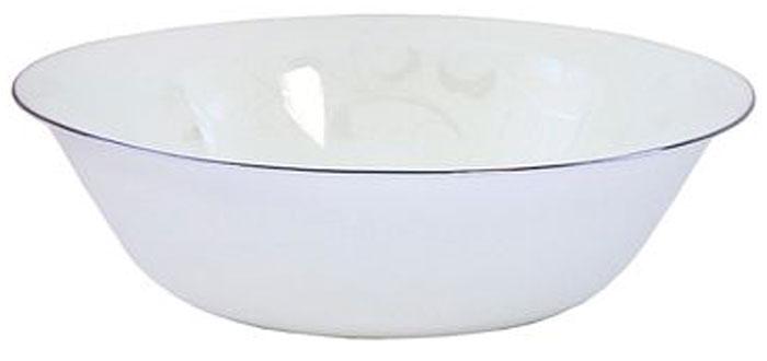 Миска Chinbull Иль-де-Франс, цвет: белый, диаметр 16 смOLFW-65/313YМиска Chinbull Иль-де-Франс, выполненная из высококачественной стеклокерамики, декорирована изящным рисунком. Оригинальный дизайн придется по вкусу и ценителям классики, и тем, кто предпочитает утонченность. Изделие очень функционально, оно пригодится на кухне для самых разнообразных нужд: в качестве салатника, миски или тарелки.Миска Chinbull Иль-де-Франс идеально подойдет для сервировки стола и станет отличным подарком к любому празднику. Можно использовать в посудомоечной машине.