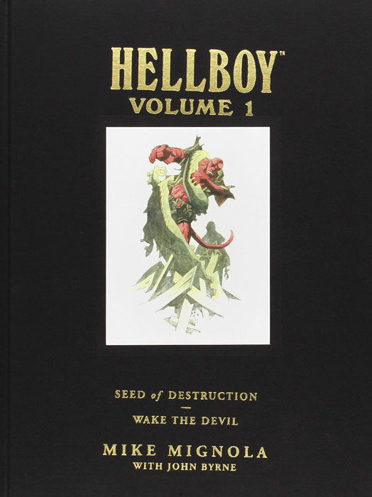 Hellboy seed of destruction and wake the devil hellboy the art of hellboy