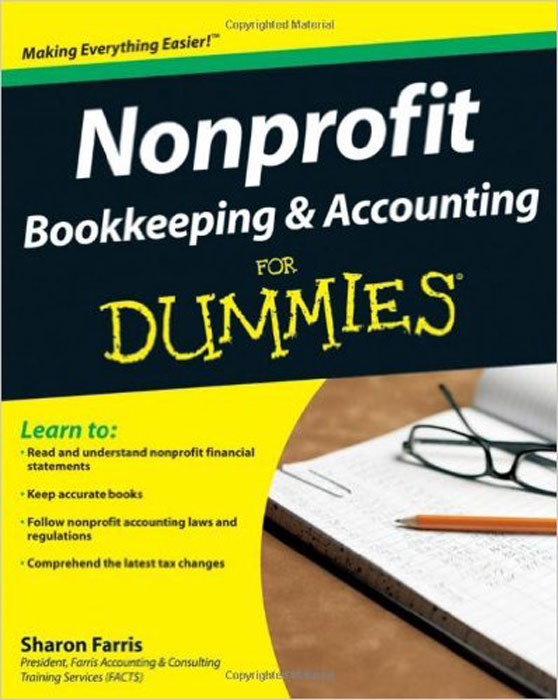 Nonprofit Bookkeeping & Accounting For Dummies principles of financial accounting