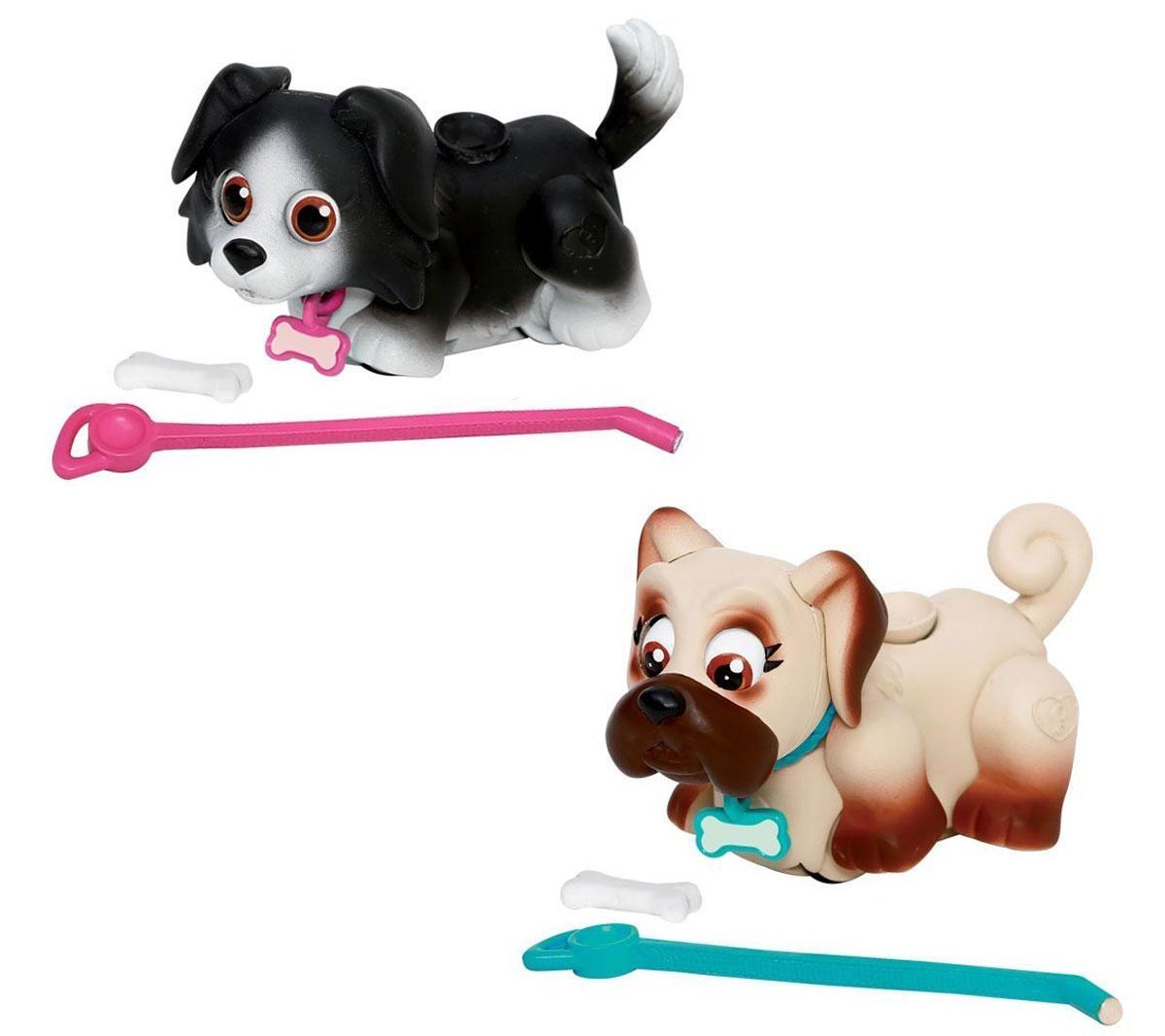 Pet Club Parade Игровой набор Собачки Бордер-колли и Мопс pet parade кошки купить