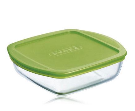 Форма для запекания КВ 2L2 с крышкой 25x22x7см Pyrex Cook & Store 212P000 форма для запекания pyrex cook & go 281pg00 7046