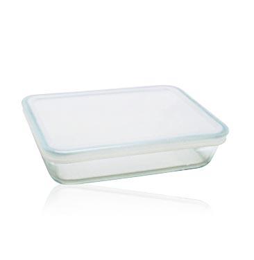 Форма для запекания 4L с белой крышкой 27x23 Pyrex Cook & Store 244P000244P000