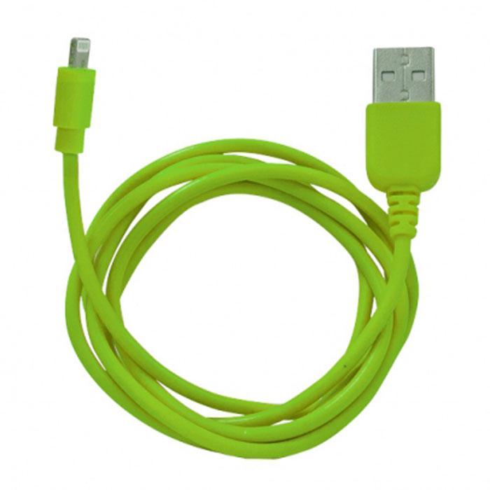 Human Friends Rainbow L Green, USB кабельRainbow L GreenHuman Friends Rainbow - кабель для соединения устройств Apple c USB-портом. Он может использоваться для передачи данных, зарядки аккумулятора и адаптирован для работы со всеми операционными системами. Главное достоинство Rainbow - в его внешнем виде. Он выгодно отличается от привычных и скучных расцветок стандартных кабелей. И кроме того, кабель упакован в очень удобный и компактный пакет-чехол с многоразовой системой открывания-закрывания.