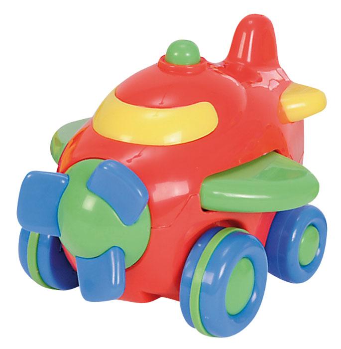 Simba Самолет инерционный цвет красный simba машинка игрушка лев