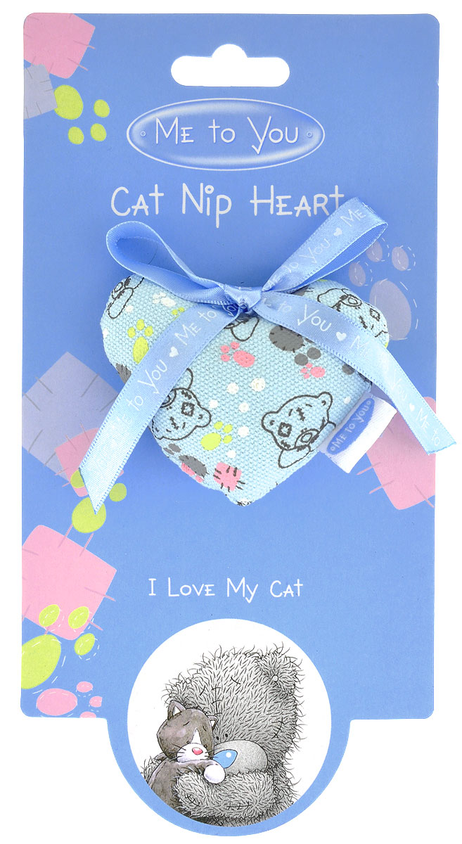 Игрушка для кошек Me To You Сердечко me to you мой любимый татти тедди