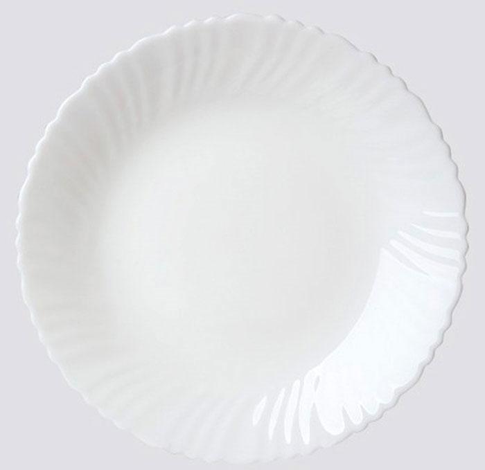Тарелка десертная Chinbull, диаметр 19 смOLHP-75Десертная тарелка Chinbull изготовлена из экологически чистой стеклокерамики. Изделие оформлено рельефным рисунком и имеет изысканный внешний вид. Такая тарелка прекрасно подходит как для торжественных случаев, так и для повседневного использования. Идеальна для подачи десертов, пирожных, тортов и многого другого. Она прекрасно оформит стол и станет отличным дополнением к вашей коллекции кухонной посуды. Диаметр тарелки (по верхнему краю): 19 см. Высота стенки: 2 см.