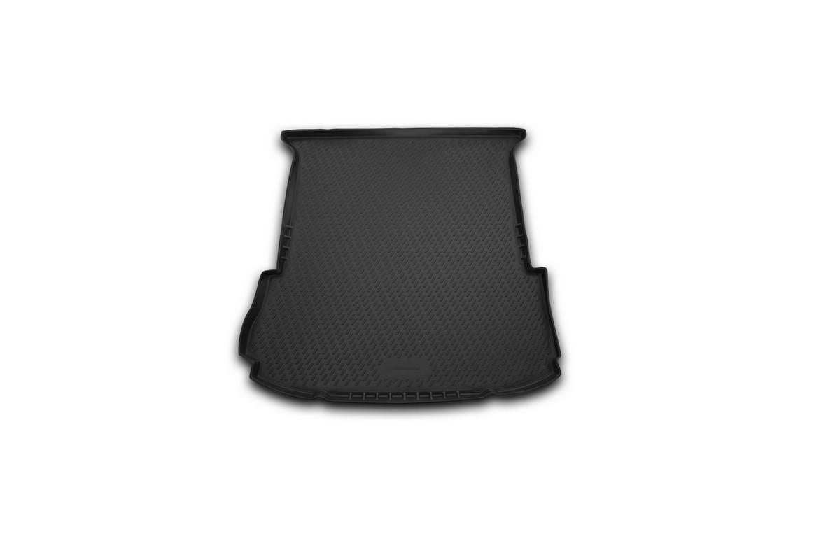 Коврик автомобильный Novline-Autofamily для Ford Explorer внедорожник 2011-2014, 2014-, в багажник. CARFRD00010CARFRD00010Автомобильный коврик Novline-Autofamily, изготовленный из полиуретана, позволит вам без особых усилий содержать в чистоте багажный отсек вашего авто и при этом перевозить в нем абсолютно любые грузы. Этот модельный коврик идеально подойдет по размерам багажнику вашего автомобиля. Такой автомобильный коврик гарантированно защитит багажник от грязи, мусора и пыли, которые постоянно скапливаются в этом отсеке. А кроме того, поддон не пропускает влагу. Все это надолго убережет важную часть кузова от износа. Коврик в багажнике сильно упростит для вас уборку. Согласитесь, гораздо проще достать и почистить один коврик, нежели весь багажный отсек. Тем более, что поддон достаточно просто вынимается и вставляется обратно. Мыть коврик для багажника из полиуретана можно любыми чистящими средствами или просто водой. При этом много времени у вас уборка не отнимет, ведь полиуретан устойчив к загрязнениям.Если вам приходится перевозить в багажнике тяжелые грузы, за сохранность коврика можете не беспокоиться. Он сделан из прочного материала, который не деформируется при механических нагрузках и устойчив даже к экстремальным температурам. А кроме того, коврик для багажника надежно фиксируется и не сдвигается во время поездки, что является дополнительной гарантией сохранности вашего багажа.Коврик имеет форму и размеры, соответствующие модели данного автомобиля.