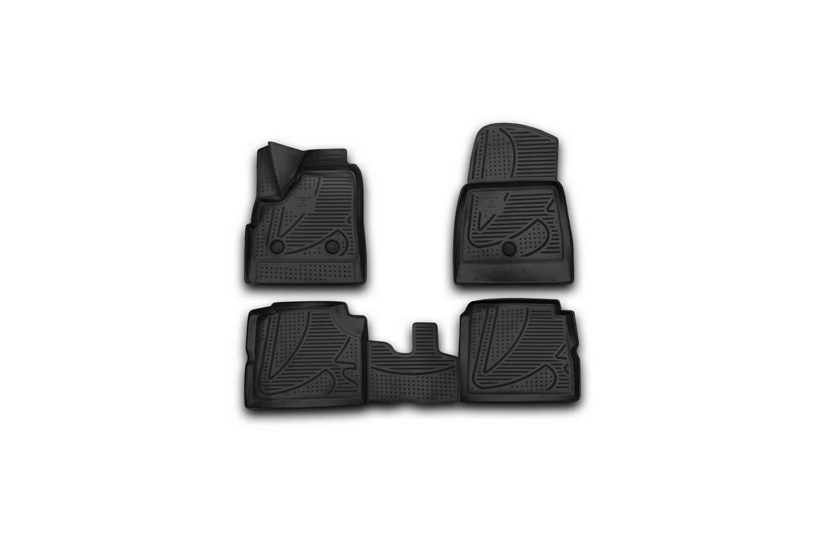 Набор автомобильных 3D-ковриков Novline-Autofamily для Lada 4x4 5D, 2009->, в салон, 4 штF420250E1Набор Novline-Autofamily состоит из 4 ковриков, изготовленных из полиуретана.Основная функция ковров - защита салона автомобиля от загрязнения и влаги. Это достигается за счет высоких бортов, перемычки на тоннель заднего ряда сидений, элементов формы и текстуры, свойств материала, а также запатентованной технологией 3D-перемычки в зоне отдыха ноги водителя, что обеспечивает дополнительную защиту, сохраняя салон автомобиля в первозданном виде.Материал, из которого сделаны коврики, обладает антискользящими свойствами. Для фиксации ковров в салоне автомобиля в комплекте с ними используются специальные крепежи. Форма передней части водительского ковра, уходящая под педаль акселератора, исключает нештатное заедание педалей.Набор подходит для Lada 4x4 5D с 2009 года выпуска.