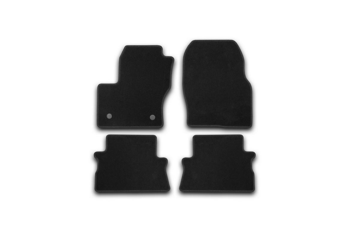 Набор автомобильных ковриков Klever для Ford Kuga 2013-, кроссовер, в салон, 4 шт. KVR01164101200k коврики в салон автомобиля klever standard для ford focus 2 2004 седан 4 шт