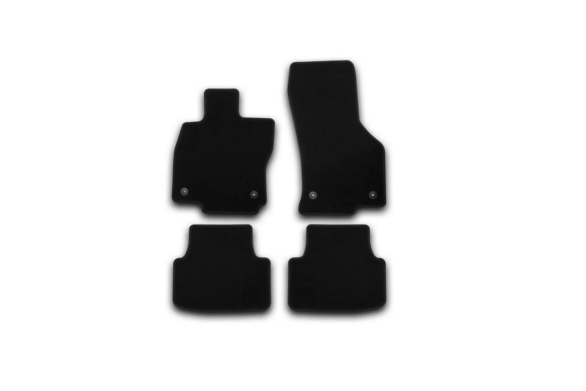 Коврики в салон автомобиля Klever, для Skoda Octavia 2013->, седан, 4 шт 2017 new car led headlight h7 led h11 9005 hb3 9006 hb4 9012 car cob led headlamp bulb car light source front light 6000k