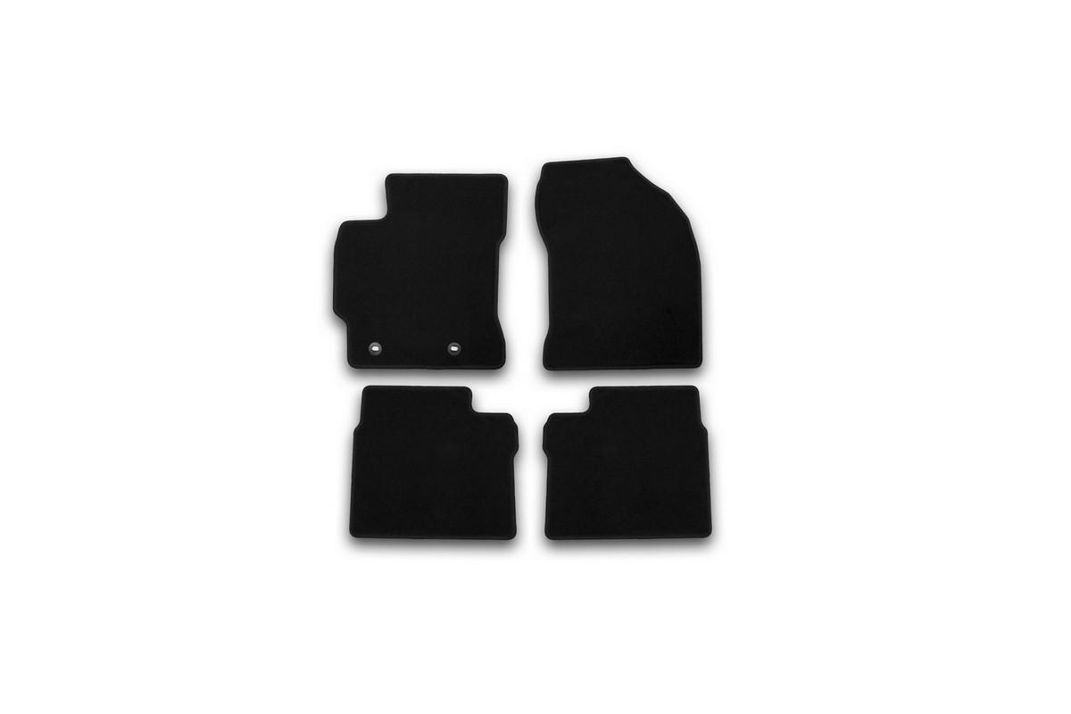 Набор автомобильных ковриков Klever для Toyota Corolla 2013-, седан, в салон, 4 шт. KVR01486901200k чехол на сиденье skyway toyota corolla седан ty1 2k