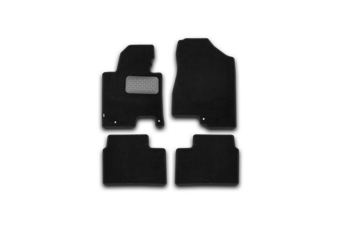 Коврики в салон KIA Ceed АКПП 2012->, хб., ун., 4 шт. (текстиль). KVR02254501210khKVR02254501210khКоврики в салон не только улучшат внешний вид салона вашего автомобиля, но и надежно уберегут его от пыли, грязи и сырости, а значит, защитят кузов от коррозии. Текстильные коврики для автомобиля мягкие и приятные, а их основа из вспененного полиуретана не пропускает влагу.. Автомобильные коврики в салон учитывают все особенности каждой модели авто и полностью повторяют контуры пола. Благодаря этому их не нужно будет подгибать или обрезать. И самое главное — они не будут мешать педалям.Текстильные автомобильные коврики для салона произведены из высококачественного материала, который держит форму и не пачкает обувь. К тому же, этот материал очень прочный (его, к примеру, не получится проткнуть каблуком). Некоторые автоковрики становятся источником неприятного запаха в автомобиле. С текстильными ковриками Novline вы можете этого не бояться. Ковры для автомобилей надежно крепятся на полу и не скользят, что очень важно во время движения, особенно для водителя. Автоковры из текстиля с основой из вспененного полиуретана легко впитывают и надежно удерживают грязь и влагу, при этом всегда выглядят довольно опрятно. И чистятся они очень просто: как при помощи автомобильного пылесоса, так и различными моющими средствами.