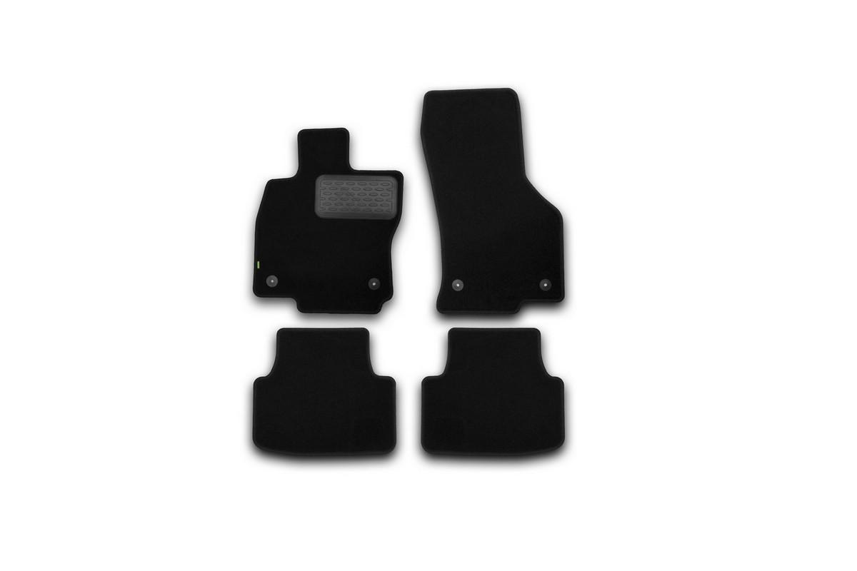 Коврики в салон SKODA Octavia 2013->, сед., 4 шт.(текстиль). KVR02451601210khKVR02451601210khКоврики в салон не только улучшат внешний вид салона вашего автомобиля, но и надежно уберегут его от пыли, грязи и сырости, а значит, защитят кузов от коррозии. Текстильные коврики для автомобиля мягкие и приятные, а их основа из вспененного полиуретана не пропускает влагу.. Автомобильные коврики в салон учитывают все особенности каждой модели авто и полностью повторяют контуры пола. Благодаря этому их не нужно будет подгибать или обрезать. И самое главное — они не будут мешать педалям.Текстильные автомобильные коврики для салона произведены из высококачественного материала, который держит форму и не пачкает обувь. К тому же, этот материал очень прочный (его, к примеру, не получится проткнуть каблуком). Некоторые автоковрики становятся источником неприятного запаха в автомобиле. С текстильными ковриками Novline вы можете этого не бояться. Ковры для автомобилей надежно крепятся на полу и не скользят, что очень важно во время движения, особенно для водителя. Автоковры из текстиля с основой из вспененного полиуретана легко впитывают и надежно удерживают грязь и влагу, при этом всегда выглядят довольно опрятно. И чистятся они очень просто: как при помощи автомобильного пылесоса, так и различными моющими средствами.