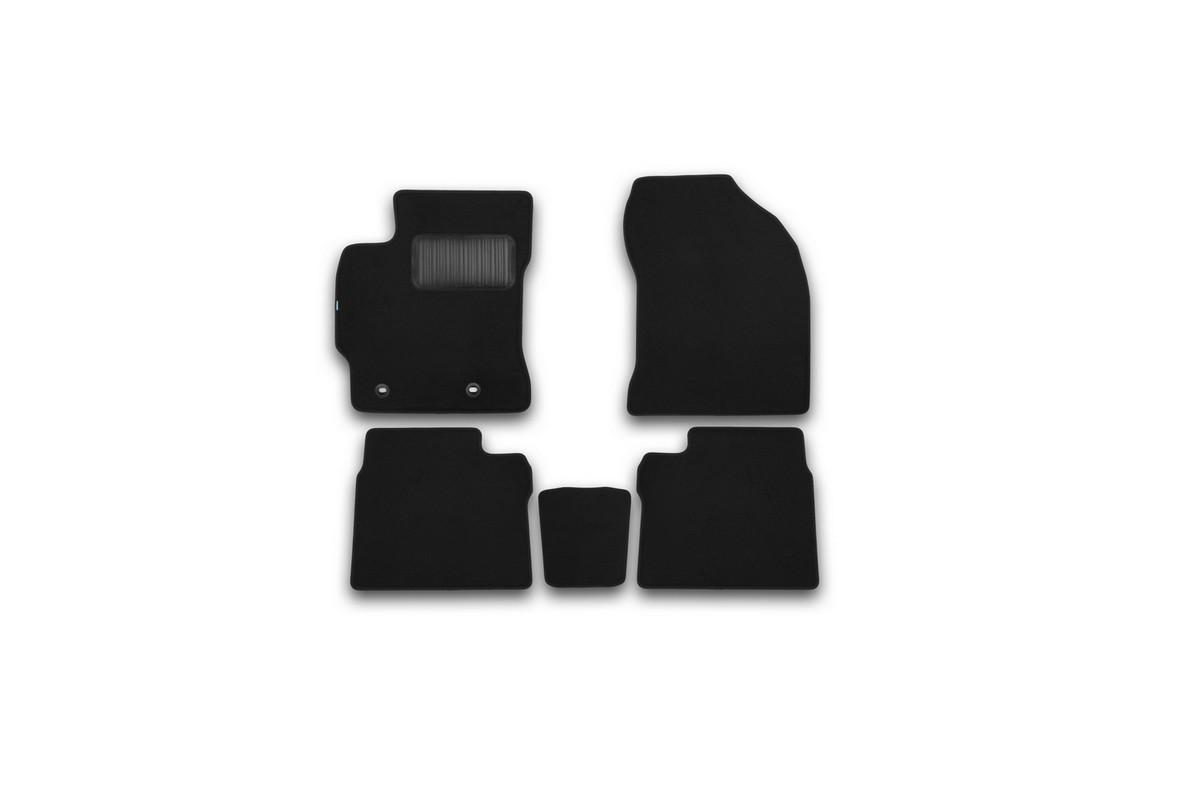 Набор автомобильных ковриков Klever для Toyota Corolla 2013-, седан, в салон, 5 шт. KVR03486922110kh чехол на сиденье skyway toyota corolla седан ty1 2k