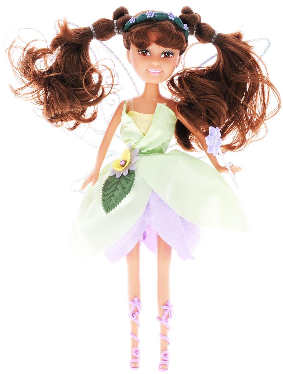 ABtoys Кукла Brilliance Fair Цветочная фея цвет платья салатовый сиреневый abtoys кукла зимняя фея сноусторм