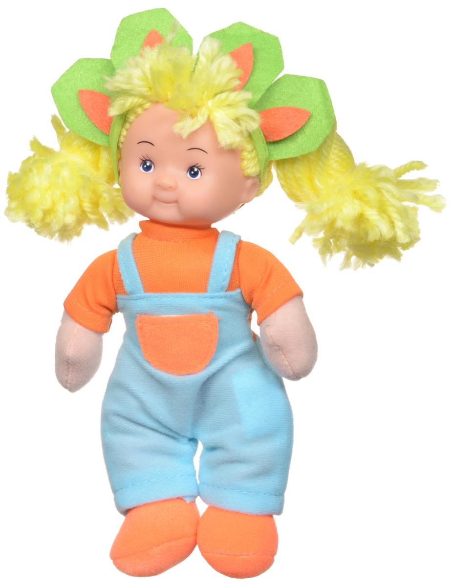 Simba Кукла мягкая цвет наряда голубой оранжевый simba паровоз инерционный цвет желтый