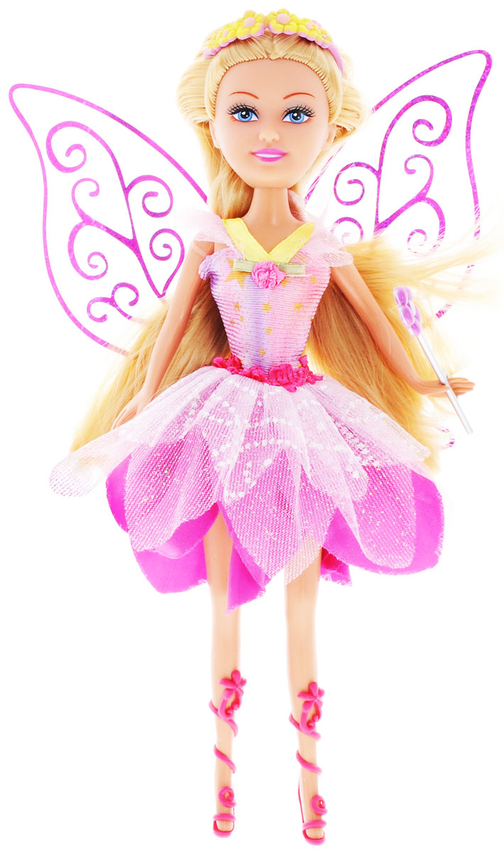 ABtoys Кукла Brilliance Fair Цветочная фея цвет платья розовый abtoys кукла фея цвет одежды фиолетовый
