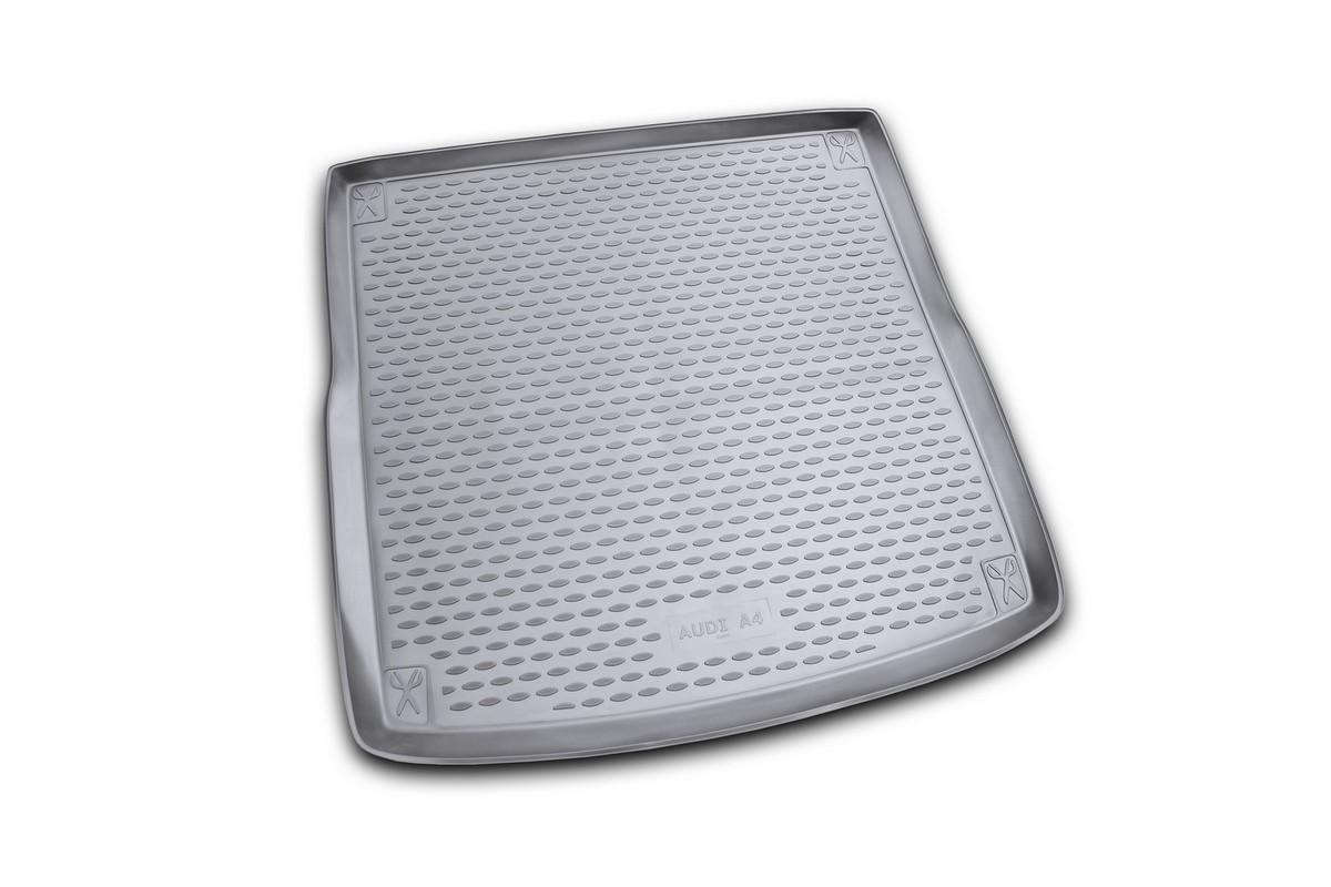 Коврик автомобильный Novline-Autofamily для Audi A4 Allroad универсал 2008-, в багажник. NLC.04.12.B12NLC.04.12.B12Автомобильный коврик Novline-Autofamily, изготовленный из полиуретана, позволит вам без особых усилий содержать в чистоте багажный отсек вашего авто и при этом перевозить в нем абсолютно любые грузы. Этот модельный коврик идеально подойдет по размерам багажнику вашего автомобиля. Такой автомобильный коврик гарантированно защитит багажник от грязи, мусора и пыли, которые постоянно скапливаются в этом отсеке. А кроме того, поддон не пропускает влагу. Все это надолго убережет важную часть кузова от износа. Коврик в багажнике сильно упростит для вас уборку. Согласитесь, гораздо проще достать и почистить один коврик, нежели весь багажный отсек. Тем более, что поддон достаточно просто вынимается и вставляется обратно. Мыть коврик для багажника из полиуретана можно любыми чистящими средствами или просто водой. При этом много времени у вас уборка не отнимет, ведь полиуретан устойчив к загрязнениям.Если вам приходится перевозить в багажнике тяжелые грузы, за сохранность коврика можете не беспокоиться. Он сделан из прочного материала, который не деформируется при механических нагрузках и устойчив даже к экстремальным температурам. А кроме того, коврик для багажника надежно фиксируется и не сдвигается во время поездки, что является дополнительной гарантией сохранности вашего багажа.Коврик имеет форму и размеры, соответствующие модели данного автомобиля.