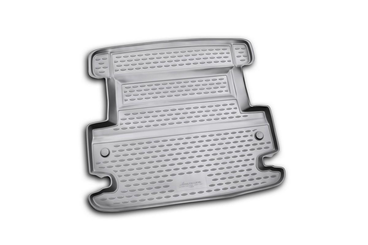 Коврик автомобильный Novline-Autofamily для Dodge Journey кроссовер 2008-, в багажникNLC.13.04.N13Автомобильный коврик Novline-Autofamily, изготовленный из полиуретана, позволит вам без особых усилий содержать в чистоте багажный отсек вашего авто и при этом перевозить в нем абсолютно любые грузы. Этот модельный коврик идеально подойдет по размерам багажнику вашего автомобиля. Такой автомобильный коврик гарантированно защитит багажник от грязи, мусора и пыли, которые постоянно скапливаются в этом отсеке. А кроме того, поддон не пропускает влагу. Все это надолго убережет важную часть кузова от износа. Коврик в багажнике сильно упростит для вас уборку. Согласитесь, гораздо проще достать и почистить один коврик, нежели весь багажный отсек. Тем более, что поддон достаточно просто вынимается и вставляется обратно. Мыть коврик для багажника из полиуретана можно любыми чистящими средствами или просто водой. При этом много времени у вас уборка не отнимет, ведь полиуретан устойчив к загрязнениям.Если вам приходится перевозить в багажнике тяжелые грузы, за сохранность коврика можете не беспокоиться. Он сделан из прочного материала, который не деформируется при механических нагрузках и устойчив даже к экстремальным температурам. А кроме того, коврик для багажника надежно фиксируется и не сдвигается во время поездки, что является дополнительной гарантией сохранности вашего багажа.Коврик имеет форму и размеры, соответствующие модели данного автомобиля.