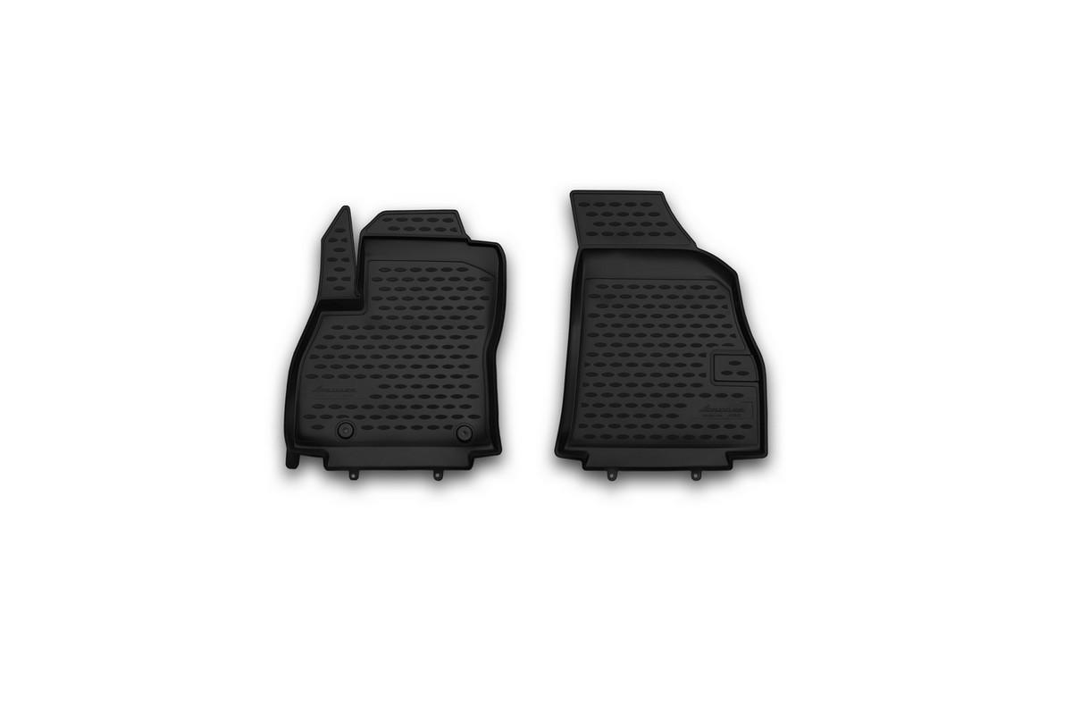 Набор автомобильных ковриков Novline-Autofamily для Fiat Florino 2008-, в салон, 2 штNLC.15.30.210khНабор автомобильных ковриков Novline-Autofamily, изготовленный из полиуретана, состоит из 2 ковриков, которые учитывают все особенности каждой модели автомобиля и полностью повторяют контуры пола. Полиуретановые автомобильные коврики для салона произведены из высококачественного материала, который держит форму, прочный и не пачкает обувь. Коврики в салон не только улучшат внешний вид салона вашего автомобиля, но и надежно уберегут его от пыли, грязи и сырости, а значит, защитят кузов от коррозии. Полиуретановые коврики для автомобиля гладкие, приятные и не пропускают влагу. Ковры для автомобилей надежно крепятся на полу и не скользят, что очень важно во время движения. Чистятся коврики очень просто: как при помощи автомобильного пылесоса, так и различными моющими средствами. Набор подходит для Fiat Florino с 2008 года выпуска.