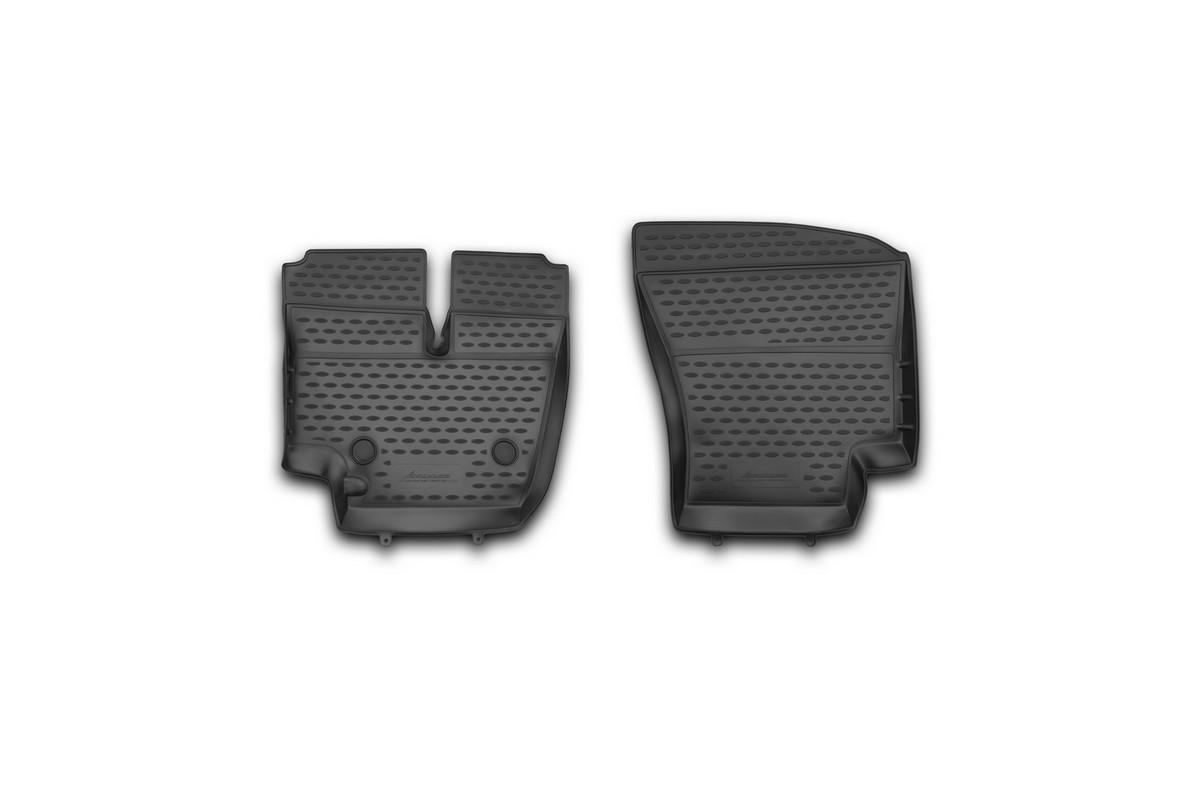 Набор автомобильных ковриков Novline-Autofamily для Ford Cargo 1830 (2530), в салон, 2 шт коврики в салон автомобиля novline autofamily для ford transit мкпп 2006 2014 2 шт