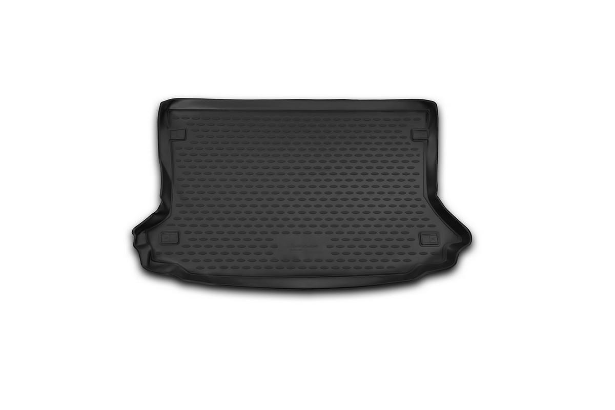 Коврик автомобильный Novline-Autofamily для Ford EcoSport кроссовер 2014-, в багажникNLC.16.59.B13.00Автомобильный коврик Novline-Autofamily, изготовленный из полиуретана, позволит вам без особых усилий содержать в чистоте багажный отсек вашего авто и при этом перевозить в нем абсолютно любые грузы. Этот модельный коврик идеально подойдет по размерам багажнику вашего автомобиля. Такой автомобильный коврик гарантированно защитит багажник от грязи, мусора и пыли, которые постоянно скапливаются в этом отсеке. А кроме того, поддон не пропускает влагу. Все это надолго убережет важную часть кузова от износа. Коврик в багажнике сильно упростит для вас уборку. Согласитесь, гораздо проще достать и почистить один коврик, нежели весь багажный отсек. Тем более, что поддон достаточно просто вынимается и вставляется обратно. Мыть коврик для багажника из полиуретана можно любыми чистящими средствами или просто водой. При этом много времени у вас уборка не отнимет, ведь полиуретан устойчив к загрязнениям.Если вам приходится перевозить в багажнике тяжелые грузы, за сохранность коврика можете не беспокоиться. Он сделан из прочного материала, который не деформируется при механических нагрузках и устойчив даже к экстремальным температурам. А кроме того, коврик для багажника надежно фиксируется и не сдвигается во время поездки, что является дополнительной гарантией сохранности вашего багажа.Коврик имеет форму и размеры, соответствующие модели данного автомобиля.