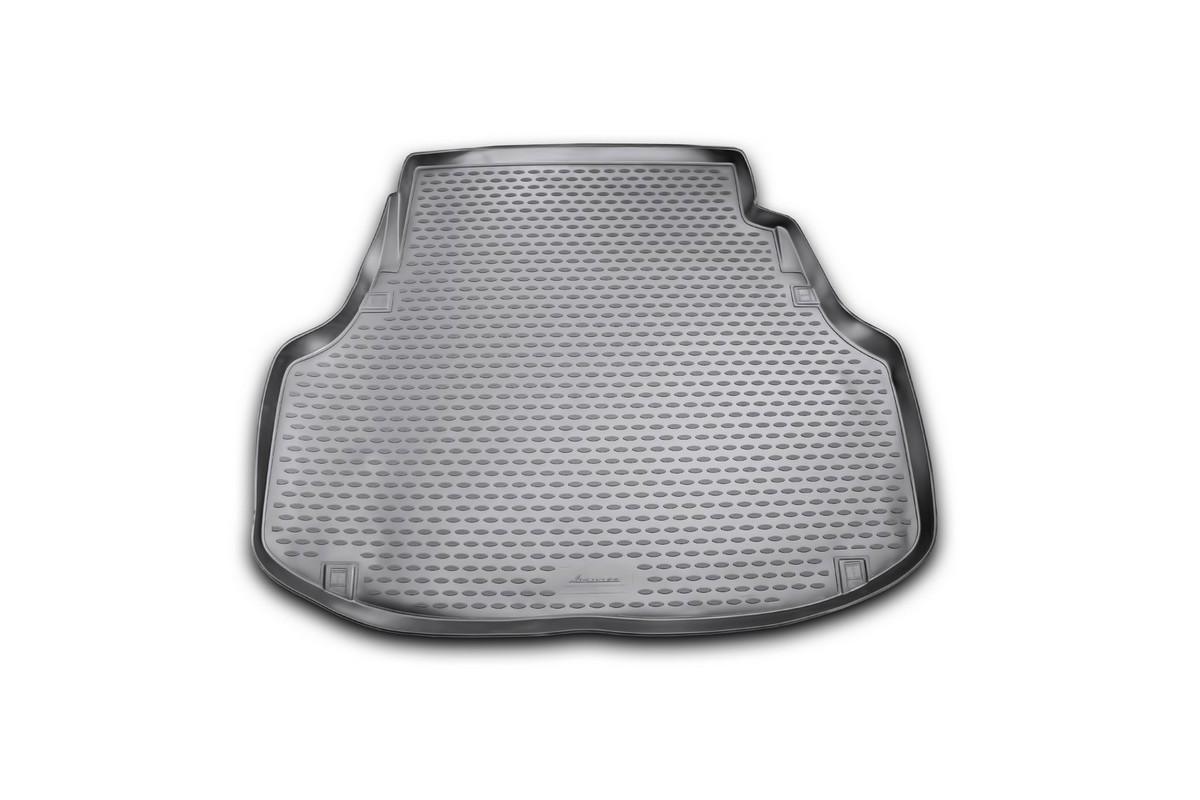 Коврик автомобильный Novline-Autofamily для Hyundai Equus седан 2010-, в багажникNLC.20.44.B10Автомобильный коврик Novline-Autofamily, изготовленный из полиуретана, позволит вам без особых усилий содержать в чистоте багажный отсек вашего авто и при этом перевозить в нем абсолютно любые грузы. Этот модельный коврик идеально подойдет по размерам багажнику вашего автомобиля. Такой автомобильный коврик гарантированно защитит багажник от грязи, мусора и пыли, которые постоянно скапливаются в этом отсеке. А кроме того, поддон не пропускает влагу. Все это надолго убережет важную часть кузова от износа. Коврик в багажнике сильно упростит для вас уборку. Согласитесь, гораздо проще достать и почистить один коврик, нежели весь багажный отсек. Тем более, что поддон достаточно просто вынимается и вставляется обратно. Мыть коврик для багажника из полиуретана можно любыми чистящими средствами или просто водой. При этом много времени у вас уборка не отнимет, ведь полиуретан устойчив к загрязнениям.Если вам приходится перевозить в багажнике тяжелые грузы, за сохранность коврика можете не беспокоиться. Он сделан из прочного материала, который не деформируется при механических нагрузках и устойчив даже к экстремальным температурам. А кроме того, коврик для багажника надежно фиксируется и не сдвигается во время поездки, что является дополнительной гарантией сохранности вашего багажа.Коврик имеет форму и размеры, соответствующие модели данного автомобиля.