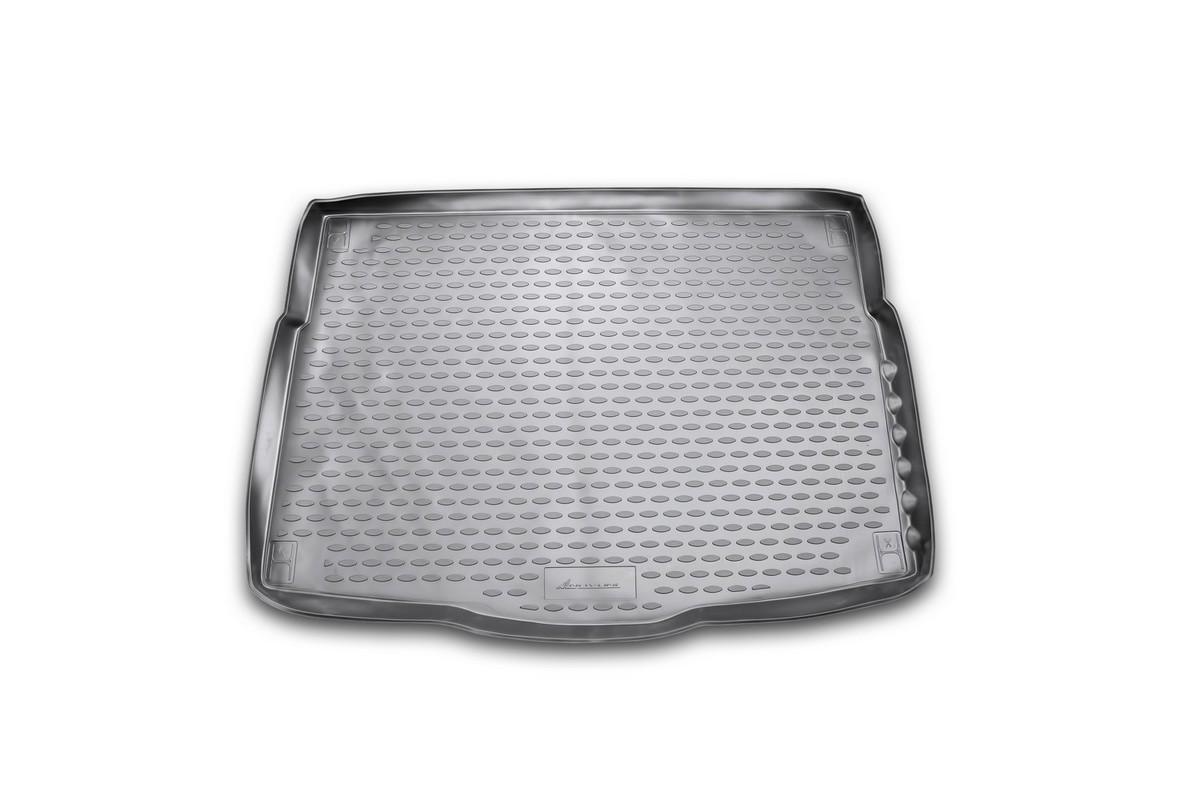 Коврик в багажник автомобиля Novline-Autofamily для Hyundai i30, 2012 -NLC.20.51.B11Автомобильный коврик в багажник позволит вам без особых усилий содержать в чистоте багажный отсек вашего авто и при этом перевозить в нем абсолютно любые грузы. Такой автомобильный коврик гарантированно защитит багажник вашего автомобиля от грязи, мусора и пыли, которые постоянно скапливаются в этом отсеке. А кроме того, поддон не пропускает влагу. Все это надолго убережет важную часть кузова от износа. Мыть коврик для багажника из полиуретана можно любыми чистящими средствами или просто водой. При этом много времени уборка не отнимет, ведь полиуретан устойчив к загрязнениям.Если вам приходится перевозить в багажнике тяжелые грузы, за сохранность автоковрика можете не беспокоиться. Он сделан из прочного материала, который не деформируется при механических нагрузках и устойчив даже к экстремальным температурам. А кроме того, коврик для багажника надежно фиксируется и не сдвигается во время поездки - это дополнительная гарантия сохранности вашего багажа.