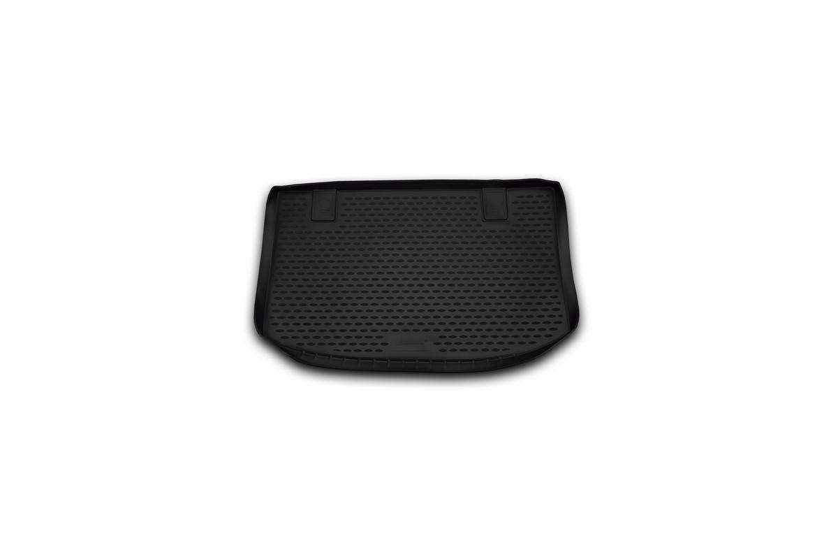 Коврик автомобильный Novline-Autofamily для Kia Venga хэтчбек 2010-, в багажникNLC.25.34.BV11Автомобильный коврик Novline-Autofamily, изготовленный из полиуретана, позволит вам без особых усилий содержать в чистоте багажный отсек вашего авто и при этом перевозить в нем абсолютно любые грузы. Этот модельный коврик идеально подойдет по размерам багажнику вашего автомобиля. Такой автомобильный коврик гарантированно защитит багажник от грязи, мусора и пыли, которые постоянно скапливаются в этом отсеке. А кроме того, поддон не пропускает влагу. Все это надолго убережет важную часть кузова от износа. Коврик в багажнике сильно упростит для вас уборку. Согласитесь, гораздо проще достать и почистить один коврик, нежели весь багажный отсек. Тем более, что поддон достаточно просто вынимается и вставляется обратно. Мыть коврик для багажника из полиуретана можно любыми чистящими средствами или просто водой. При этом много времени у вас уборка не отнимет, ведь полиуретан устойчив к загрязнениям.Если вам приходится перевозить в багажнике тяжелые грузы, за сохранность коврика можете не беспокоиться. Он сделан из прочного материала, который не деформируется при механических нагрузках и устойчив даже к экстремальным температурам. А кроме того, коврик для багажника надежно фиксируется и не сдвигается во время поездки, что является дополнительной гарантией сохранности вашего багажа. Коврик имеет форму и размеры, соответствующие модели данного автомобиля.