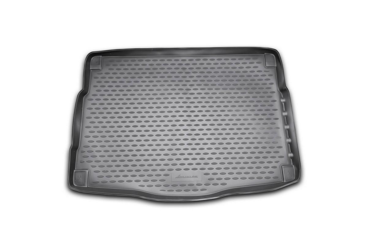 Коврик автомобильный Novline-Autofamily для Kia Ceed хэтчбек 2012-, в багажник. NLC.25.43.B11NLC.25.43.B11Автомобильный коврик Novline-Autofamily, изготовленный из полиуретана, позволит вам без особых усилий содержать в чистоте багажный отсек вашего авто и при этом перевозить в нем абсолютно любые грузы. Этот модельный коврик идеально подойдет по размерам багажнику вашего автомобиля. Такой автомобильный коврик гарантированно защитит багажник от грязи, мусора и пыли, которые постоянно скапливаются в этом отсеке. А кроме того, поддон не пропускает влагу. Все это надолго убережет важную часть кузова от износа. Коврик в багажнике сильно упростит для вас уборку. Согласитесь, гораздо проще достать и почистить один коврик, нежели весь багажный отсек. Тем более, что поддон достаточно просто вынимается и вставляется обратно. Мыть коврик для багажника из полиуретана можно любыми чистящими средствами или просто водой. При этом много времени у вас уборка не отнимет, ведь полиуретан устойчив к загрязнениям.Если вам приходится перевозить в багажнике тяжелые грузы, за сохранность коврика можете не беспокоиться. Он сделан из прочного материала, который не деформируется при механических нагрузках и устойчив даже к экстремальным температурам. А кроме того, коврик для багажника надежно фиксируется и не сдвигается во время поездки, что является дополнительной гарантией сохранности вашего багажа.Коврик имеет форму и размеры, соответствующие модели данного автомобиля.