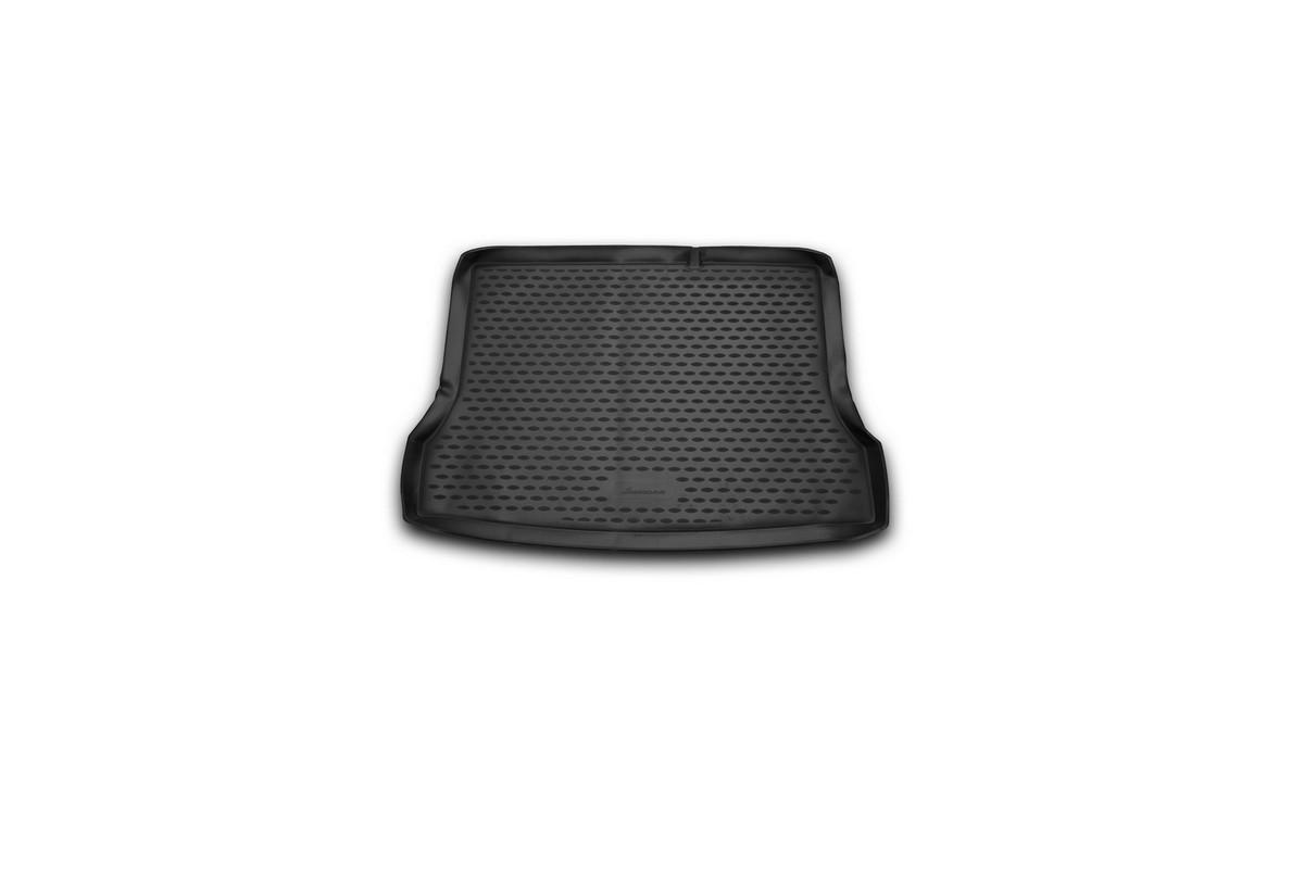 Коврик автомобильный Novline-Autofamily для Nissan Tiida хэтчбек 2015-, в багажникNLC.36.56.B11Автомобильный коврик Novline-Autofamily, изготовленный из полиуретана, позволит вам без особых усилий содержать в чистоте багажный отсек вашего авто и при этом перевозить в нем абсолютно любые грузы. Этот модельный коврик идеально подойдет по размерам багажнику вашего автомобиля. Такой автомобильный коврик гарантированно защитит багажник от грязи, мусора и пыли, которые постоянно скапливаются в этом отсеке. А кроме того, поддон не пропускает влагу. Все это надолго убережет важную часть кузова от износа. Коврик в багажнике сильно упростит для вас уборку. Согласитесь, гораздо проще достать и почистить один коврик, нежели весь багажный отсек. Тем более, что поддон достаточно просто вынимается и вставляется обратно. Мыть коврик для багажника из полиуретана можно любыми чистящими средствами или просто водой. При этом много времени у вас уборка не отнимет, ведь полиуретан устойчив к загрязнениям.Если вам приходится перевозить в багажнике тяжелые грузы, за сохранность коврика можете не беспокоиться. Он сделан из прочного материала, который не деформируется при механических нагрузках и устойчив даже к экстремальным температурам. А кроме того, коврик для багажника надежно фиксируется и не сдвигается во время поездки, что является дополнительной гарантией сохранности вашего багажа.Коврик имеет форму и размеры, соответствующие модели данного автомобиля.