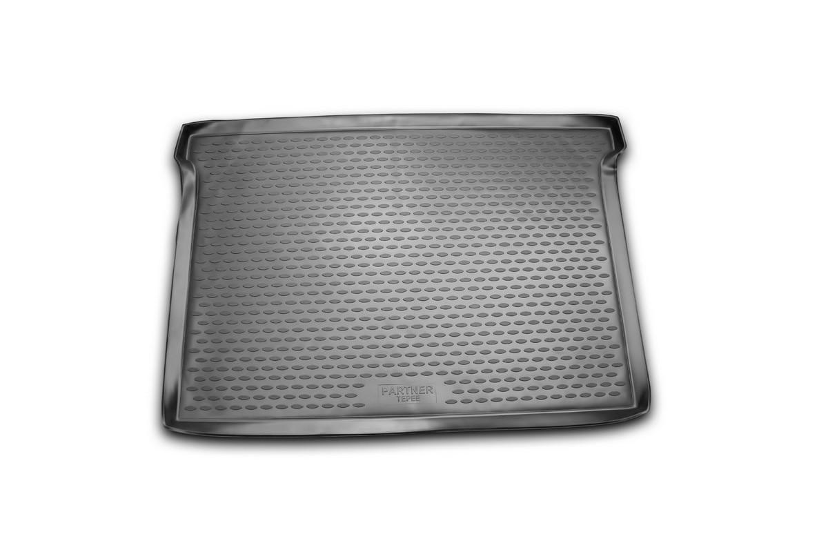 Коврик автомобильный Novline-Autofamily для Peugeot Partner Tepee минивэн 2006, 2008-, в багажникNLC.38.12.B15Автомобильный коврик Novline-Autofamily, изготовленный из полиуретана, позволит вам без особых усилий содержать в чистоте багажный отсек вашего авто и при этом перевозить в нем абсолютно любые грузы. Этот модельный коврик идеально подойдет по размерам багажнику вашего автомобиля. Такой автомобильный коврик гарантированно защитит багажник от грязи, мусора и пыли, которые постоянно скапливаются в этом отсеке. А кроме того, поддон не пропускает влагу. Все это надолго убережет важную часть кузова от износа. Коврик в багажнике сильно упростит для вас уборку. Согласитесь, гораздо проще достать и почистить один коврик, нежели весь багажный отсек. Тем более, что поддон достаточно просто вынимается и вставляется обратно. Мыть коврик для багажника из полиуретана можно любыми чистящими средствами или просто водой. При этом много времени у вас уборка не отнимет, ведь полиуретан устойчив к загрязнениям.Если вам приходится перевозить в багажнике тяжелые грузы, за сохранность коврика можете не беспокоиться. Он сделан из прочного материала, который не деформируется при механических нагрузках и устойчив даже к экстремальным температурам. А кроме того, коврик для багажника надежно фиксируется и не сдвигается во время поездки, что является дополнительной гарантией сохранности вашего багажа.Коврик имеет форму и размеры, соответствующие модели данного автомобиля.