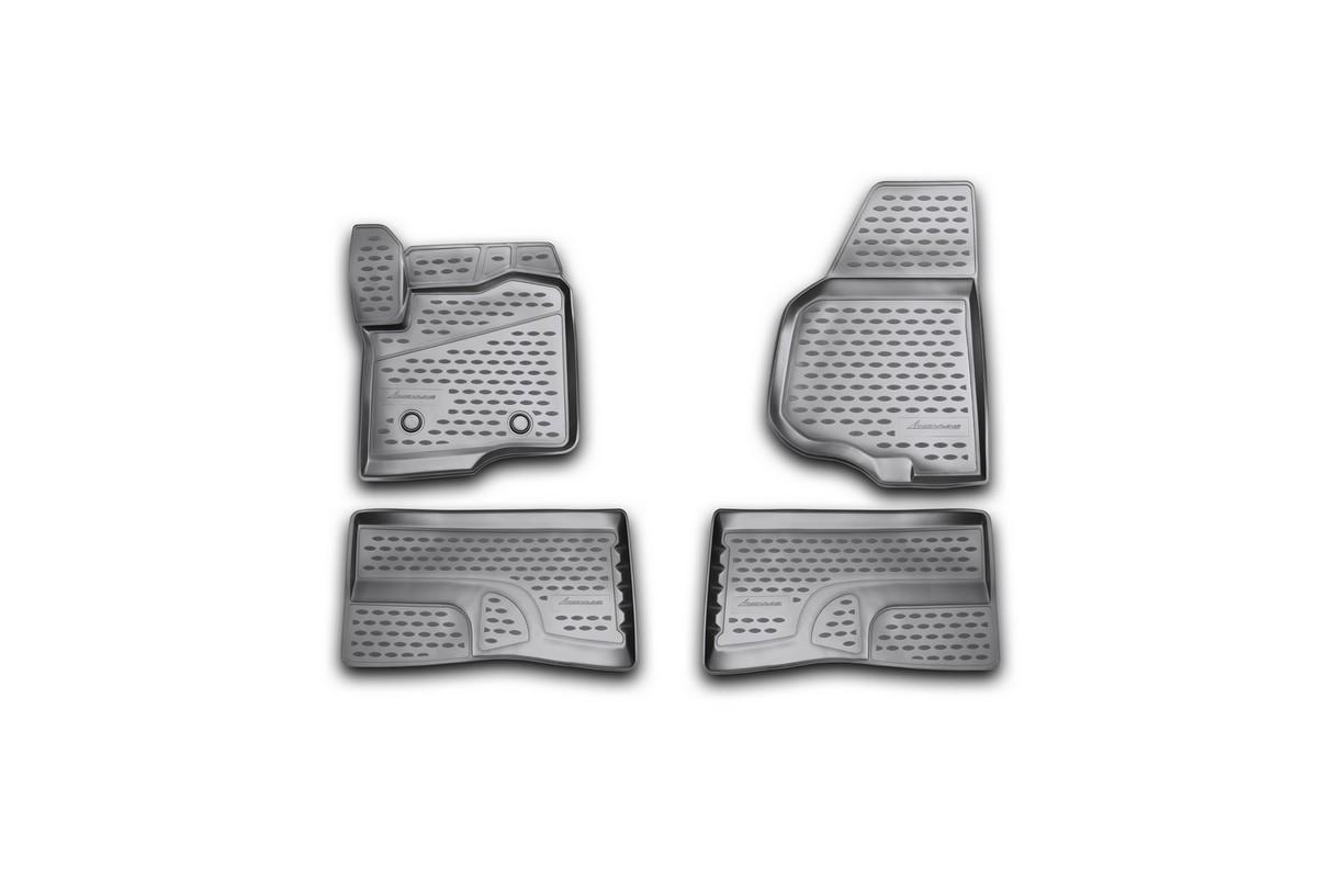Коврики 3D в салон FORD F-250/350 Super Crew , 2009-2013 4 шт. (полиуретан)NLC.3D.16.39.210kКоврики в салон не только улучшат внешний вид салона вашего автомобиля, но и надежно уберегут его от пыли, грязи и сырости, а значит, защитят кузов от коррозии. Полиуретановые коврики для автомобиля гладкие, приятные и не пропускают влагу. Автомобильные коврики в салон учитывают все особенности каждой модели и полностью повторяют контуры пола. Благодаря этому их не нужно будет подгибать или обрезать. И самое главное — они не будут мешать педалям.Полиуретановые автомобильные коврики для салона произведены из высококачественного материала, который держит форму и не пачкает обувь. К тому же, этот материал очень прочный (его, к примеру, не получится проткнуть каблуком).Некоторые автоковрики становятся источником неприятного запаха в автомобиле. С полиуретановыми ковриками Novline вы можете этого не бояться.Ковры для автомобилей надежно крепятся на полу и не скользят, что очень важно во время движения, особенно для водителя.Автоковры из полиуретана надежно удерживают грязь и влагу, при этом всегда выглядят довольно опрятно. И чистятся они очень просто: как при помощи автомобильного пылесоса, так и различными моющими средствами.