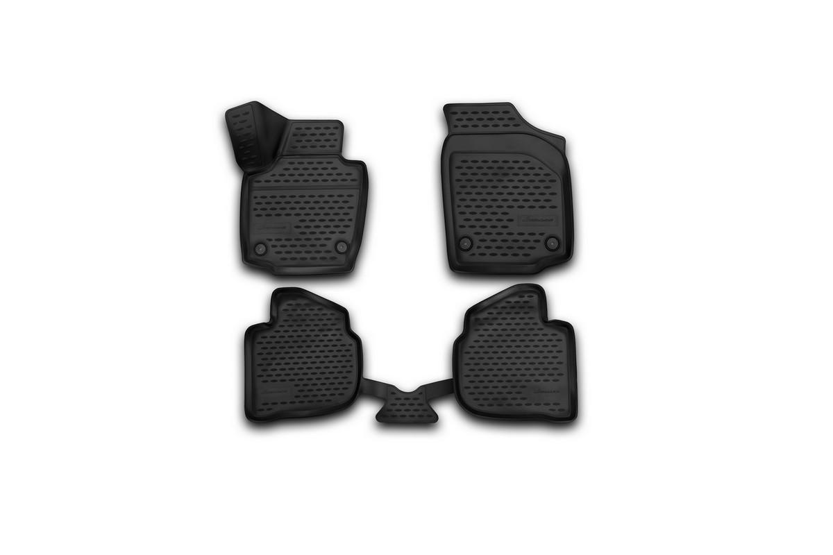 Коврики 3D в салон автомобиля Novline-Autofamily для Skoda Rapid, 2013 -, 4 штNLC.3D.45.15.210kКоврики Novline-Autofamily улучшат внешний вид салона автомобиля и надежно уберегут его от пыли, грязи и сырости, а значит, защитят кузов от коррозии. Полиуретановые коврики гладкие, приятные и не пропускает влагу. Полиуретановые автомобильные коврики произведены из высококачественного материала, который держит форму и не пачкает обувь. Коврики надежно крепятся на полу и не скользят, что очень важно во время движения, особенно для водителя. Изделия из полиуретана надежно удерживают грязь и влагу, при этом всегда выглядят довольно опрятно. И чистится они очень просто: как при помощи автомобильного пылесоса, так и различными моющими средствами.