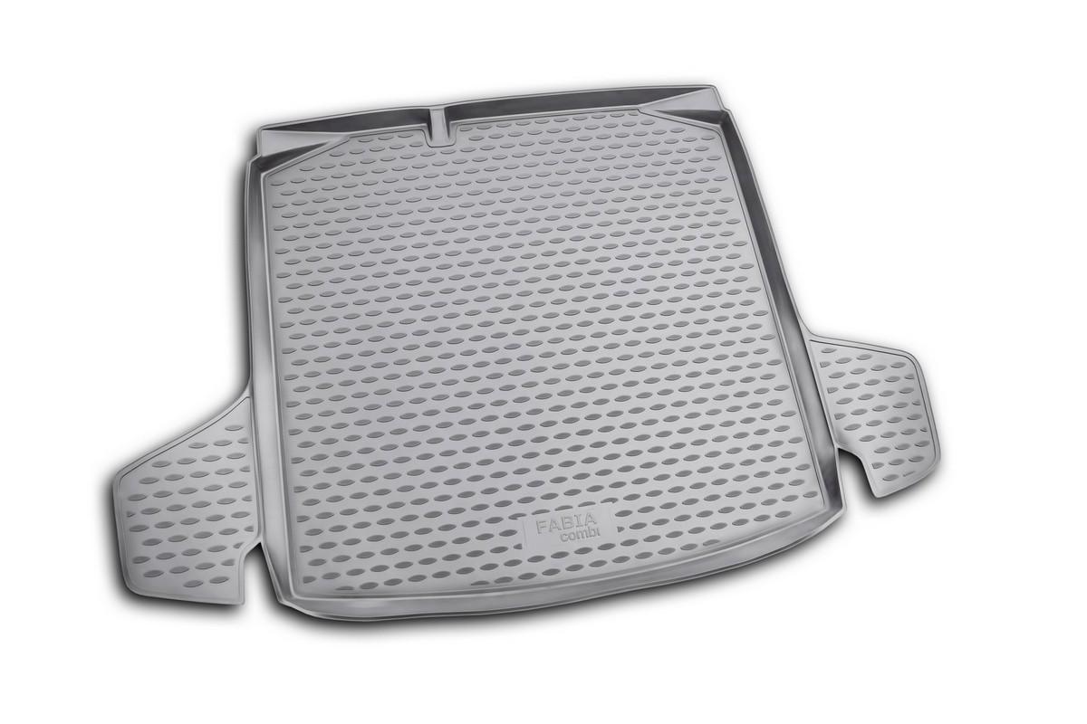 Коврик в багажник Novline-Autofamily, для SKODA Fabia 2007-, универсальныйNLC.45.06.B12Автомобильный коврик в багажник Novline-Autofamily позволит вам без особых усилий содержать в чистоте багажный отсек вашего авто и при этом перевозить в нем абсолютно любые грузы. Этот модельный коврик идеально подойдет по размерам багажнику вашего авто. Такое изделие гарантированно защитит багажник вашего автомобиля от грязи, мусора и пыли, которые постоянно скапливаются в этом отсеке. А кроме того, коврик не пропускает влагу. Все это надолго убережет важную часть кузова от износа. Коврик в багажнике сильно упростит для вас уборку. Тем более, что поддон достаточно просто вынимается и вставляется обратно. Мыть коврик для багажника из полиуретана можно любыми чистящими средствами или просто водой. При этом много времени у вас уборка не отнимет, ведь полиуретан устойчив к загрязнениям.Если вам приходится перевозить в багажнике тяжелые грузы, за сохранность автоковрика можете не беспокоиться. Он сделан из прочного материала, который не деформируется при механических нагрузках и устойчив даже к экстремальным температурам. А кроме того, коврик для багажника надежно фиксируется и не сдвигается во время поездки - это дополнительная гарантия сохранности вашего багажа.