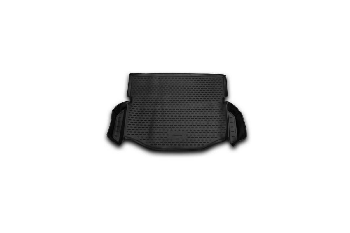 Коврик автомобильный Novline-Autofamily для Toyota Rav4 2014-, боковые карманы, в багажникNLC.48.99.B14Автомобильный коврик Novline-Autofamily, изготовленный из полиуретана, позволит вам без особых усилий содержать в чистоте багажный отсек вашего авто и при этом перевозить в нем абсолютно любые грузы. Этот модельный коврик идеально подойдет по размерам багажнику вашего автомобиля. Такой автомобильный коврик гарантированно защитит багажник от грязи, мусора и пыли, которые постоянно скапливаются в этом отсеке. А кроме того, поддон не пропускает влагу. Все это надолго убережет важную часть кузова от износа. Коврик в багажнике сильно упростит для вас уборку. Согласитесь, гораздо проще достать и почистить один коврик, нежели весь багажный отсек. Тем более, что поддон достаточно просто вынимается и вставляется обратно. Мыть коврик для багажника из полиуретана можно любыми чистящими средствами или просто водой. При этом много времени у вас уборка не отнимет, ведь полиуретан устойчив к загрязнениям.Если вам приходится перевозить в багажнике тяжелые грузы, за сохранность коврика можете не беспокоиться. Он сделан из прочного материала, который не деформируется при механических нагрузках и устойчив даже к экстремальным температурам. А кроме того, коврик для багажника надежно фиксируется и не сдвигается во время поездки, что является дополнительной гарантией сохранности вашего багажа.Коврик имеет форму и размеры, соответствующие модели данного автомобиля.
