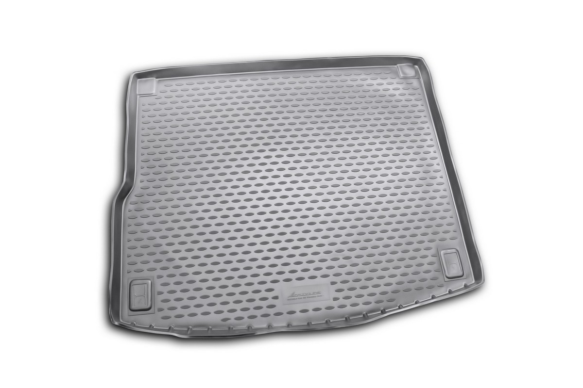 Коврик в багажник автомобиля Novline-Autofamily для VW Touareg, 2010 - коврик в багажник novline ford grand c max 11 2010 разложенные сиденья заднего ряда полиуретан b000 19
