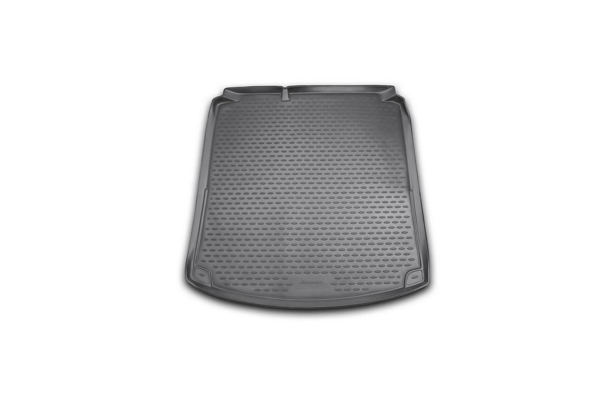 Коврик автомобильный Novline-Autofamily для Volkswagen Jetta Highline седан 2011-2015, 2015-, в багажник, без карманов