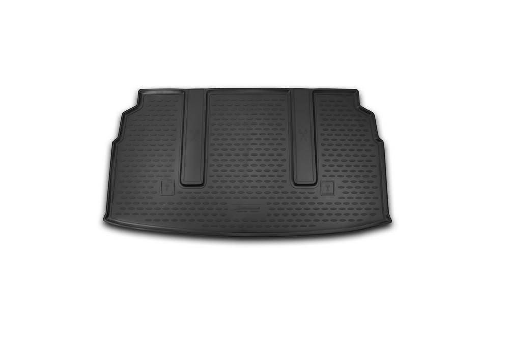 Коврик автомобильный Novline-Autofamily для SsangYong Stavic минивэн 2013-, в багажникNLC.61.04.B14Автомобильный коврик Novline-Autofamily, изготовленный из полиуретана, позволит вам без особых усилий содержать в чистоте багажный отсек вашего авто и при этом перевозить в нем абсолютно любые грузы. Этот модельный коврик идеально подойдет по размерам багажнику вашего автомобиля. Такой автомобильный коврик гарантированно защитит багажник от грязи, мусора и пыли, которые постоянно скапливаются в этом отсеке. А кроме того, поддон не пропускает влагу. Все это надолго убережет важную часть кузова от износа. Коврик в багажнике сильно упростит для вас уборку. Согласитесь, гораздо проще достать и почистить один коврик, нежели весь багажный отсек. Тем более, что поддон достаточно просто вынимается и вставляется обратно. Мыть коврик для багажника из полиуретана можно любыми чистящими средствами или просто водой. При этом много времени у вас уборка не отнимет, ведь полиуретан устойчив к загрязнениям.Если вам приходится перевозить в багажнике тяжелые грузы, за сохранность коврика можете не беспокоиться. Он сделан из прочного материала, который не деформируется при механических нагрузках и устойчив даже к экстремальным температурам. А кроме того, коврик для багажника надежно фиксируется и не сдвигается во время поездки, что является дополнительной гарантией сохранности вашего багажа.Коврик имеет форму и размеры, соответствующие модели данного автомобиля.