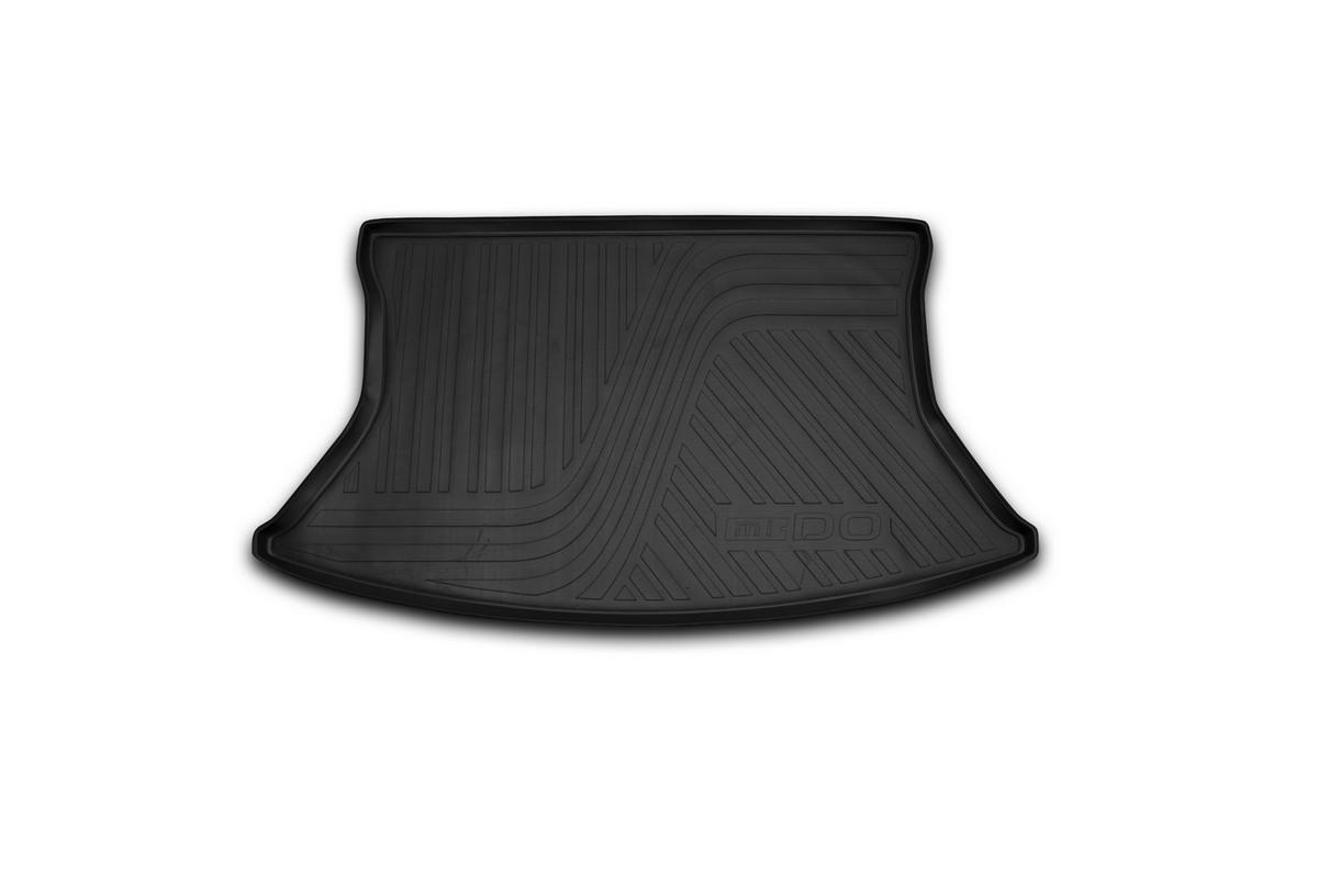 Коврик автомобильный Novline-Autofamily для Datsun Mi-Do хэтчбек 01/2015-, в багажникNLC.94.02.B11Автомобильный коврик Novline-Autofamily, изготовленный из полиуретана, позволит вам без особых усилий содержать в чистоте багажный отсек вашего авто и при этом перевозить в нем абсолютно любые грузы. Этот модельный коврик идеально подойдет по размерам багажнику вашего автомобиля. Такой автомобильный коврик гарантированно защитит багажник от грязи, мусора и пыли, которые постоянно скапливаются в этом отсеке. А кроме того, поддон не пропускает влагу. Все это надолго убережет важную часть кузова от износа. Коврик в багажнике сильно упростит для вас уборку. Согласитесь, гораздо проще достать и почистить один коврик, нежели весь багажный отсек. Тем более, что поддон достаточно просто вынимается и вставляется обратно. Мыть коврик для багажника из полиуретана можно любыми чистящими средствами или просто водой. При этом много времени у вас уборка не отнимет, ведь полиуретан устойчив к загрязнениям.Если вам приходится перевозить в багажнике тяжелые грузы, за сохранность коврика можете не беспокоиться. Он сделан из прочного материала, который не деформируется при механических нагрузках и устойчив даже к экстремальным температурам. А кроме того, коврик для багажника надежно фиксируется и не сдвигается во время поездки, что является дополнительной гарантией сохранности вашего багажа.Коврик имеет форму и размеры, соответствующие модели данного автомобиля.