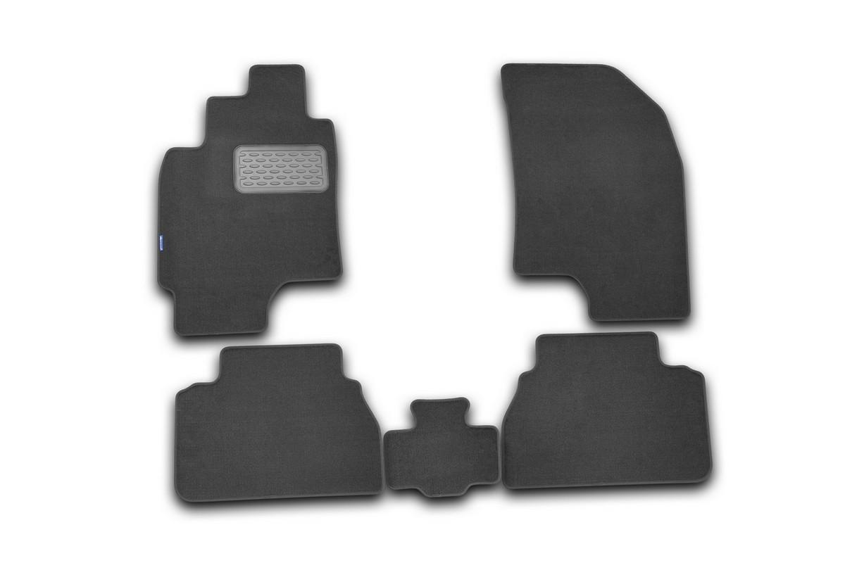 Набор автомобильных ковриков Novline-Autofamily для Chevrolet Epica 2006-, седан, в салон, 5 шт накладка на задний бампер chevrolet epica 2006