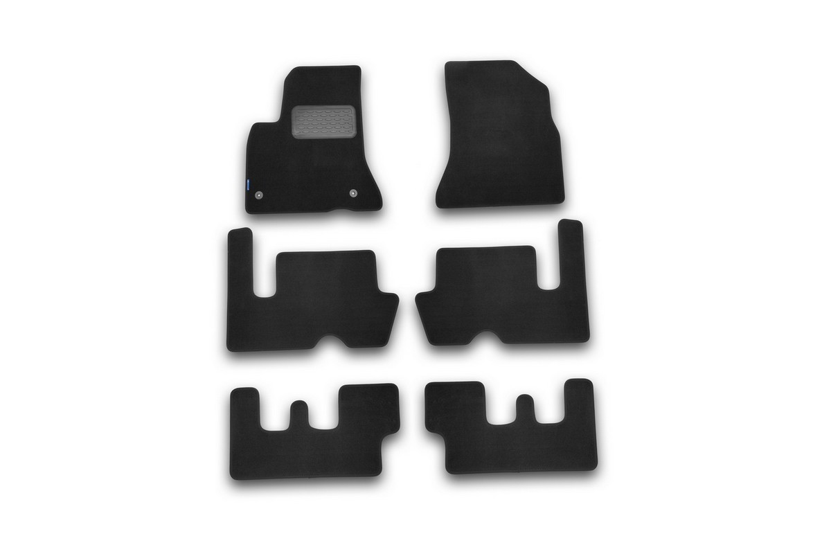 Набор автомобильных ковриков Novline-Autofamily для Citroen Grand C4 Picasso АКПП 2007-, минивэн, в салон, 6 шт. NLT.10.13.22.110khNLT.10.13.22.110khНабор автомобильных ковриков Novline-Autofamily, изготовленный из текстиля, состоит из 6 ковриков, которые учитывают все особенности каждой модели автомобиля и полностью повторяют контуры пола. Текстильные автомобильные коврики для салона произведены из высококачественного материала, который держит форму, прочный и не пачкает обувь. Коврики в салон не только улучшат внешний вид салона вашего автомобиля, но и надежно уберегут его от пыли, грязи и сырости, а значит, защитят кузов от коррозии. Текстильные коврики для автомобиля мягкие и приятные, а их основа из вспененного полиуретана не пропускает влагу. Ковры для автомобилей надежно крепятся на полу и не скользят, что очень важно во время движения. Чистятся коврики очень просто: как при помощи автомобильного пылесоса, так и различными моющими средствами. Набор подходит для Citroen Grand C4 Picasso АКПП минивэн с 2007 года выпуска.
