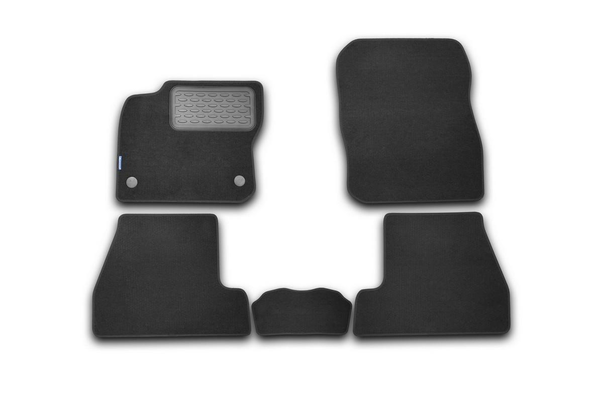 Набор автомобильных ковриков Novline-Autofamily для Ford Focus 3 2011-, хэтчбек, в салон, 5 шт комплект ковриков в салон автомобиля novline autofamily ford focus 2011 2015
