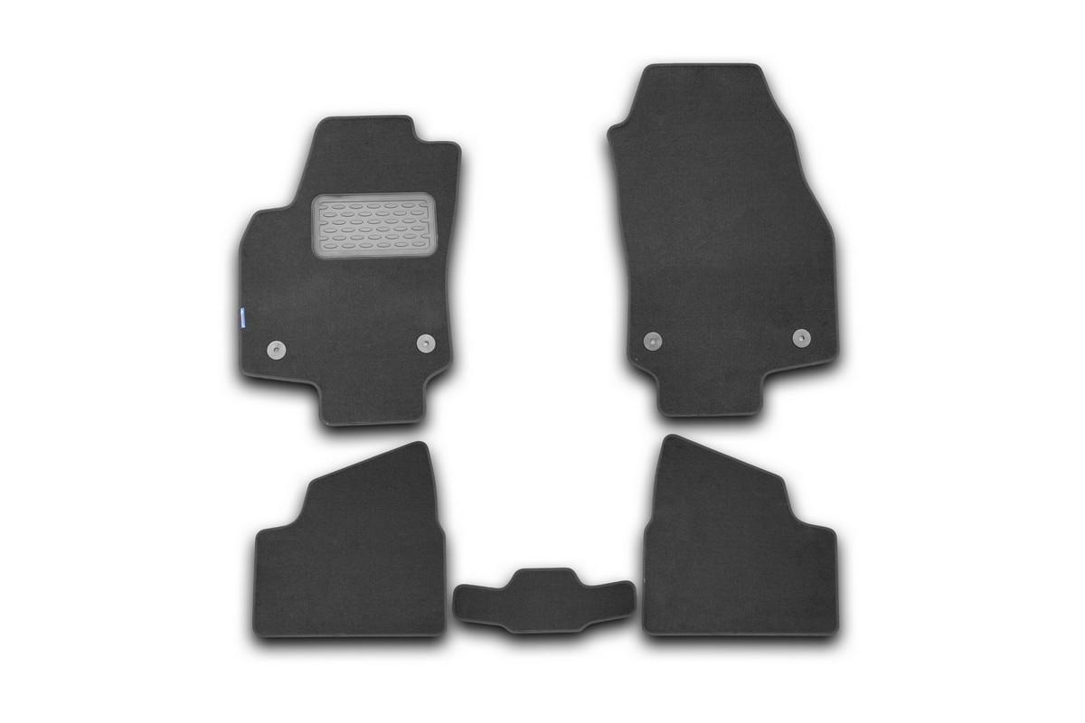 Набор автомобильных ковриков Novline-Autofamily для Opel Astra H GTC 3D 2007-2011, хэтчбек, в салон, 5 штNLT.37.10.11.110khНабор автомобильных ковриков Novline-Autofamily, изготовленный из текстиля, состоит из 5 ковриков, которые учитывают все особенности каждой модели автомобиля и полностью повторяют контуры пола. Текстильные автомобильные коврики для салона произведены из высококачественного материала, который держит форму, прочный и не пачкает обувь. Коврики в салон не только улучшат внешний вид салона вашего автомобиля, но и надежно уберегут его от пыли, грязи и сырости, а значит, защитят кузов от коррозии. Текстильные коврики для автомобиля мягкие и приятные, а их основа из вспененного полиуретана не пропускает влагу. Ковры для автомобилей надежно крепятся на полу и не скользят, что очень важно во время движения. Чистятся коврики очень просто: как при помощи автомобильного пылесоса, так и различными моющими средствами. Набор подходит для Opel Astra H GTC 3D хэтчбек 2007-2011 годов выпуска.