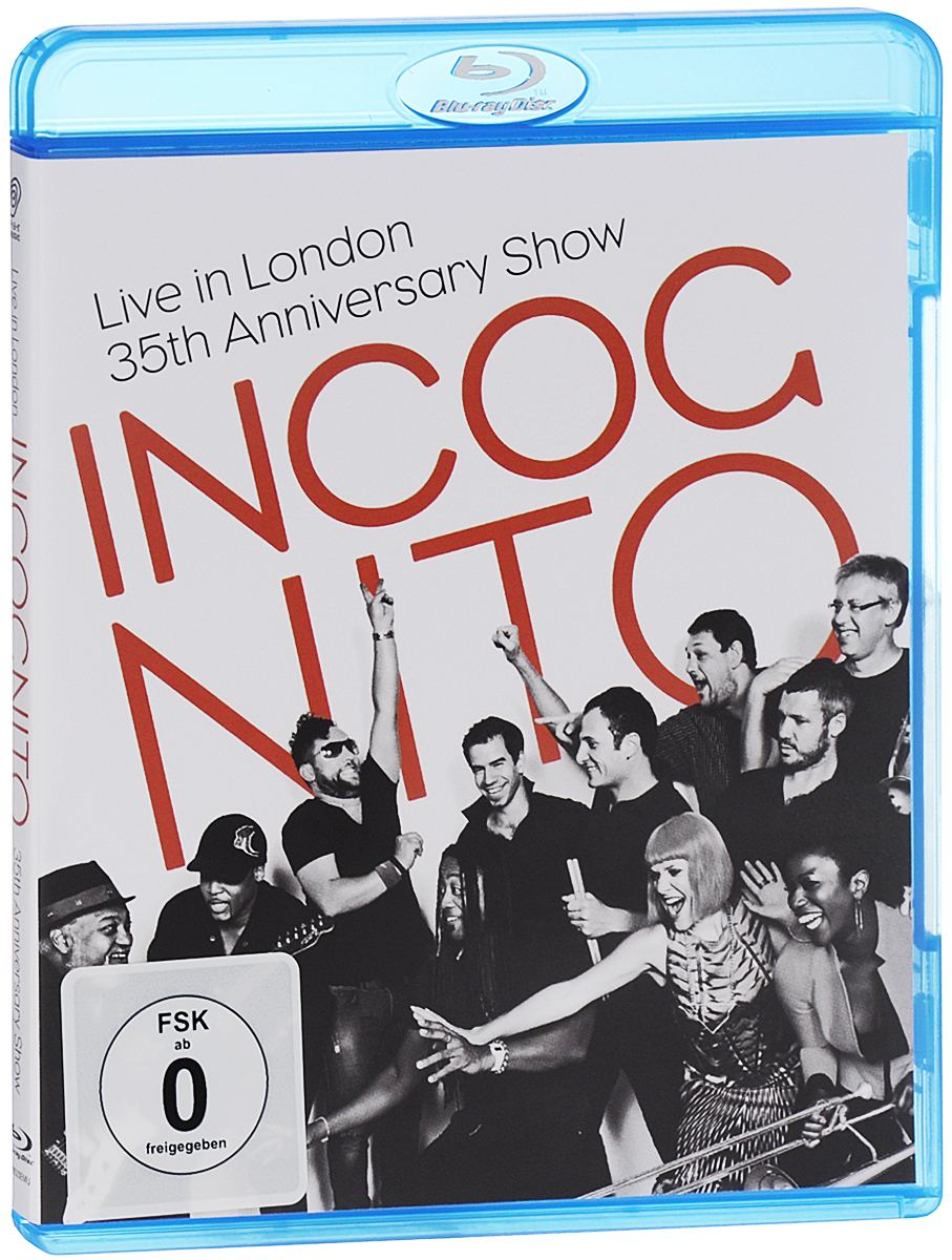 Incognito: Live In London - 35th Anniversary Show (Blu-ray) europe live at shepherd s bush london blu ray