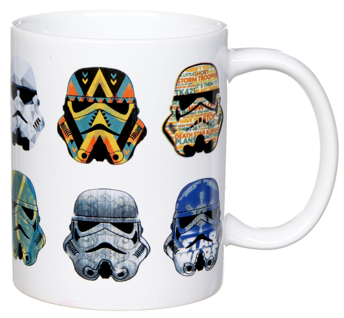 шлемы uvex шлемы Star Wars Кружка детская Стилизованные шлемы 350 мл