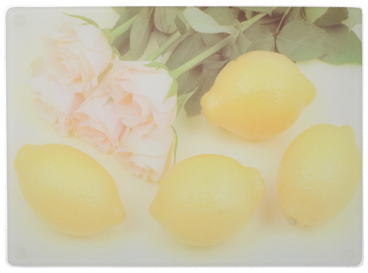 Доска разделочная Mayer & Boch Лимон, 40 х 30 см23300-1Разделочная доска Mayer & Boch Лимон, выполненная из высококачественного стекла, устойчива к повреждениям и не впитывает запахи. Она идеально подходит для разделки мяса, рыбы, приготовления теста и для нарезки любых продуктов. Гладкая поверхность предотвратит появление разводов, царапин и появление бактерий. Разделочная доска Mayer & Boch Лимон станет незаменимым аксессуаром на любой кухне.