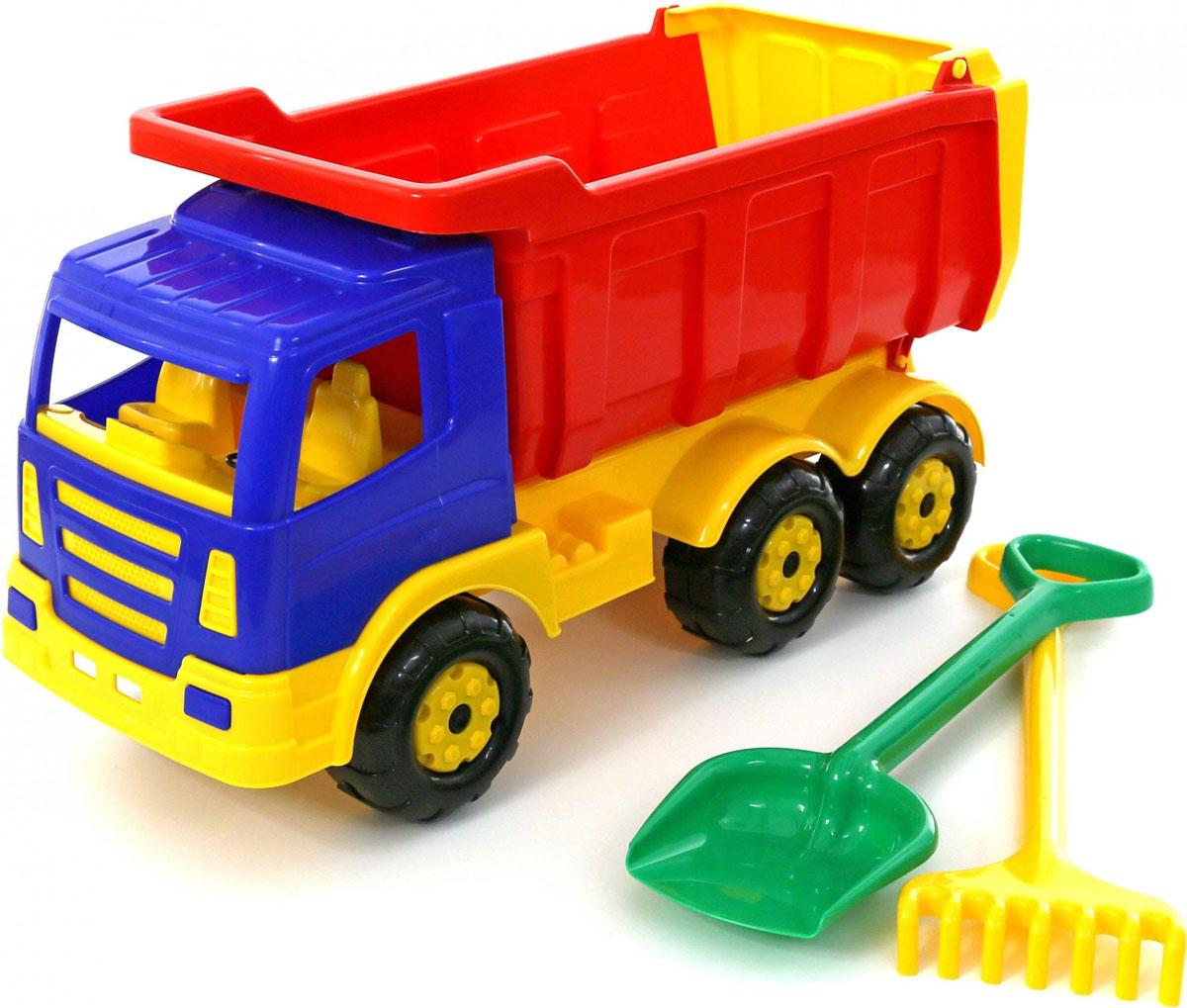 Полесье Игровой набор для песочницы Премиум игрушка полесье самосвал лопата большая премиум 9844